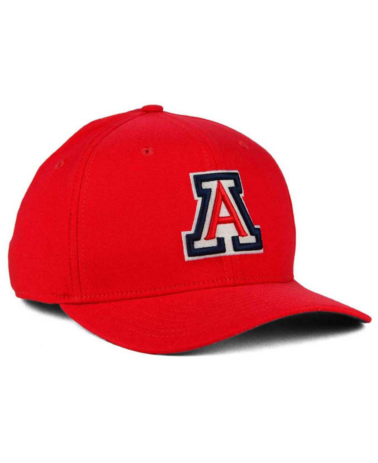 buy popular 77a58 bda93 ... sale nike red arizona wildcats classic swoosh cap for men lyst. view  fullscreen f4efb 7b280