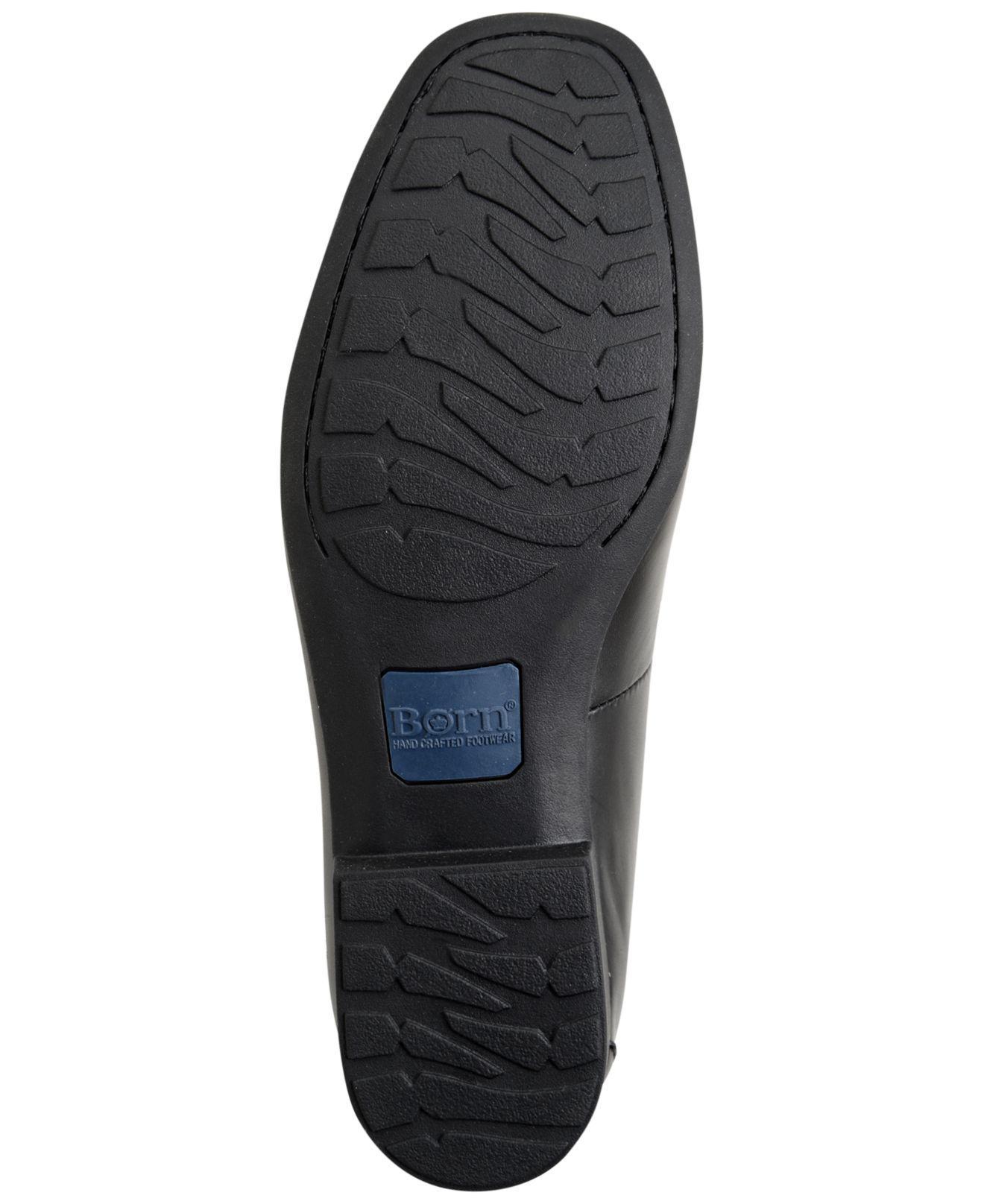 b2612446e4e Born - Black Men s Dave Penny Moc-toe Slip-on Loafers for Men -. View  fullscreen