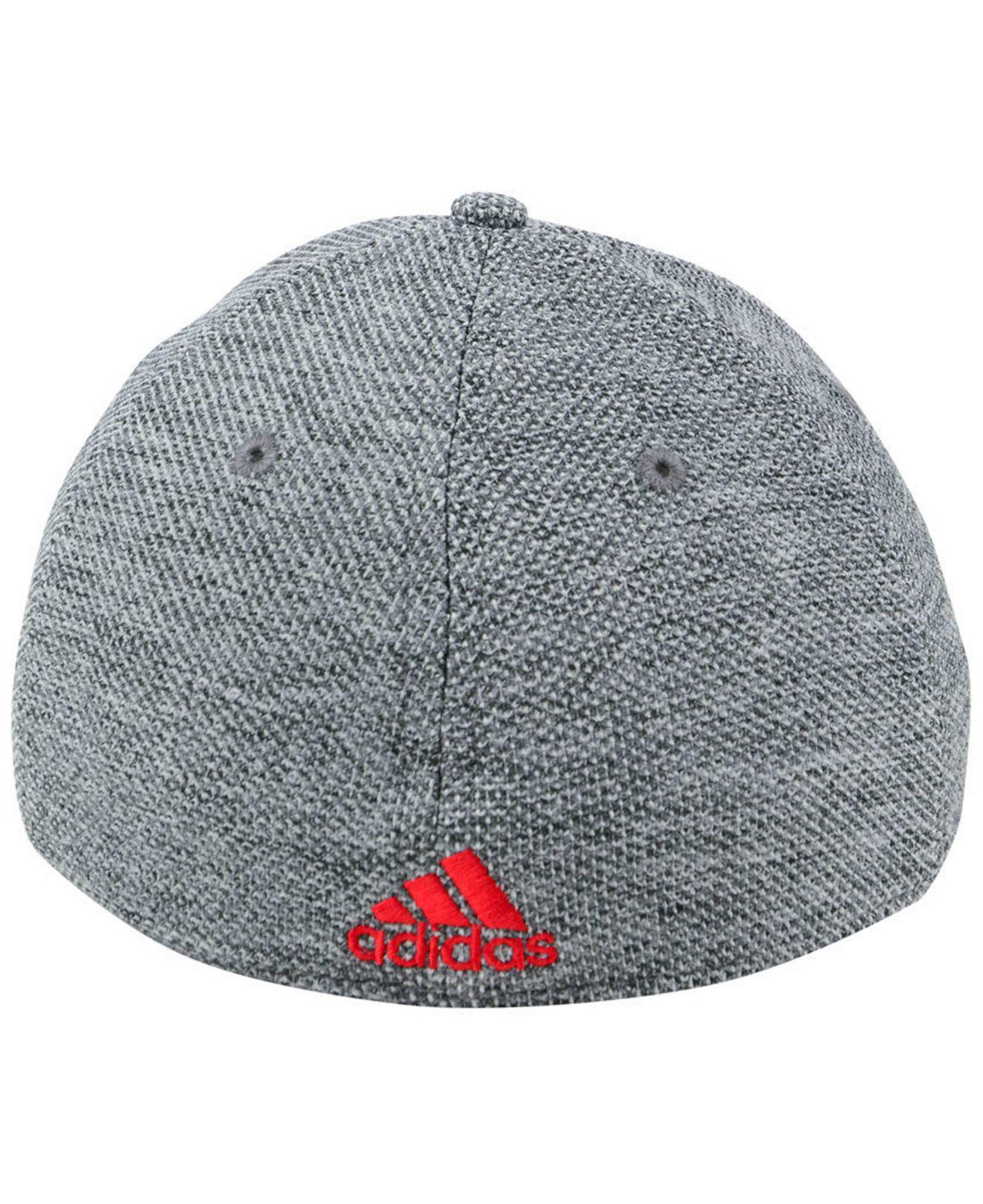 wholesale dealer c5a4e b85ca ... cheapest lyst adidas fc dallas penalty kick flex cap in gray for men  64022 ba70d