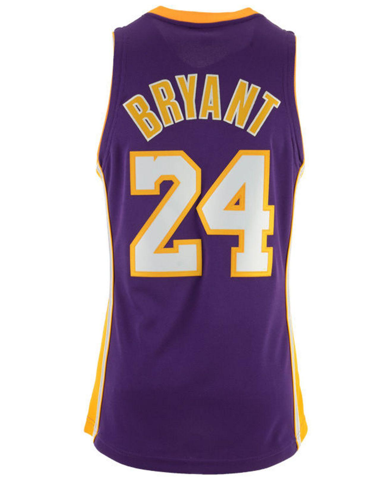 1175a9f9c83 Mitchell   Ness. Women s Purple Kobe Bryant Los Angeles Lakers Authentic  Jersey