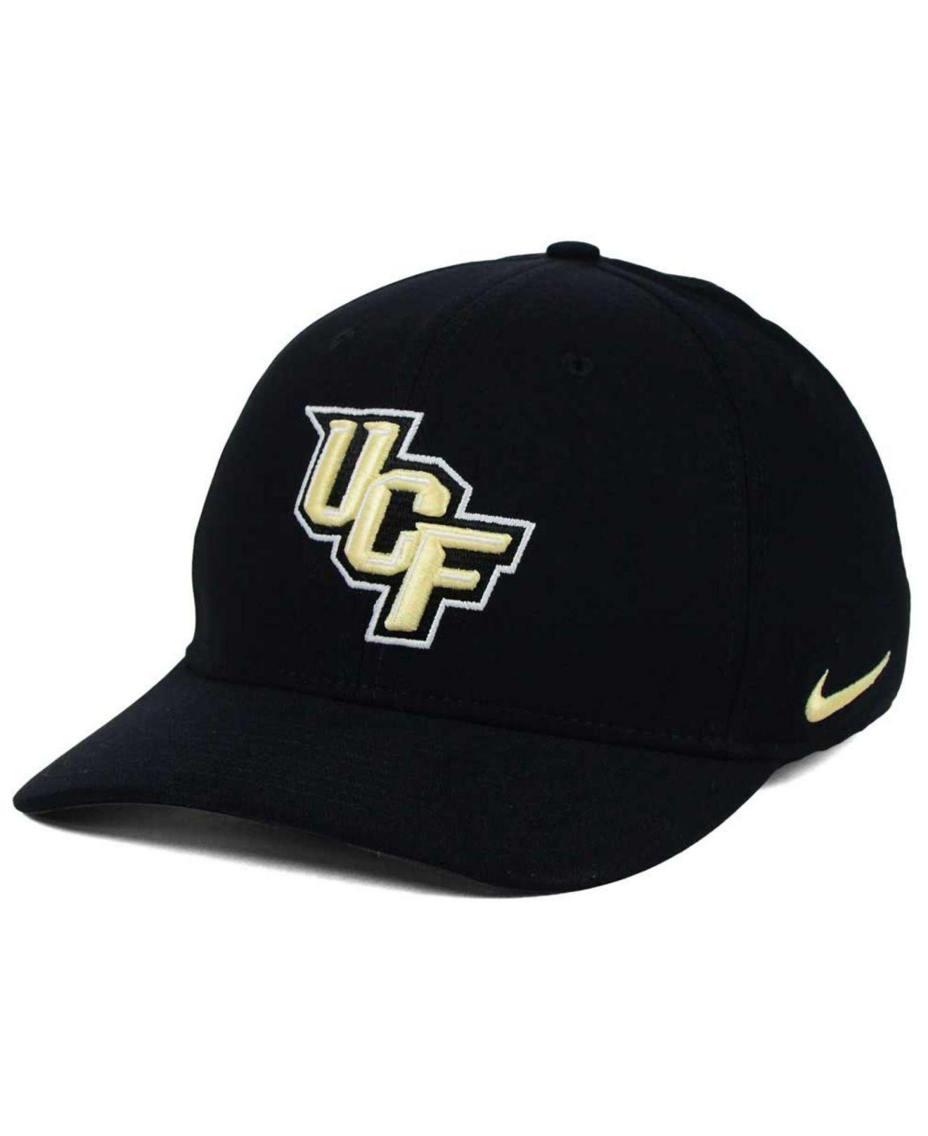 timeless design e5871 94e2d ... greece nike. mens black ucf knights classic swoosh cap 7313a 53a29