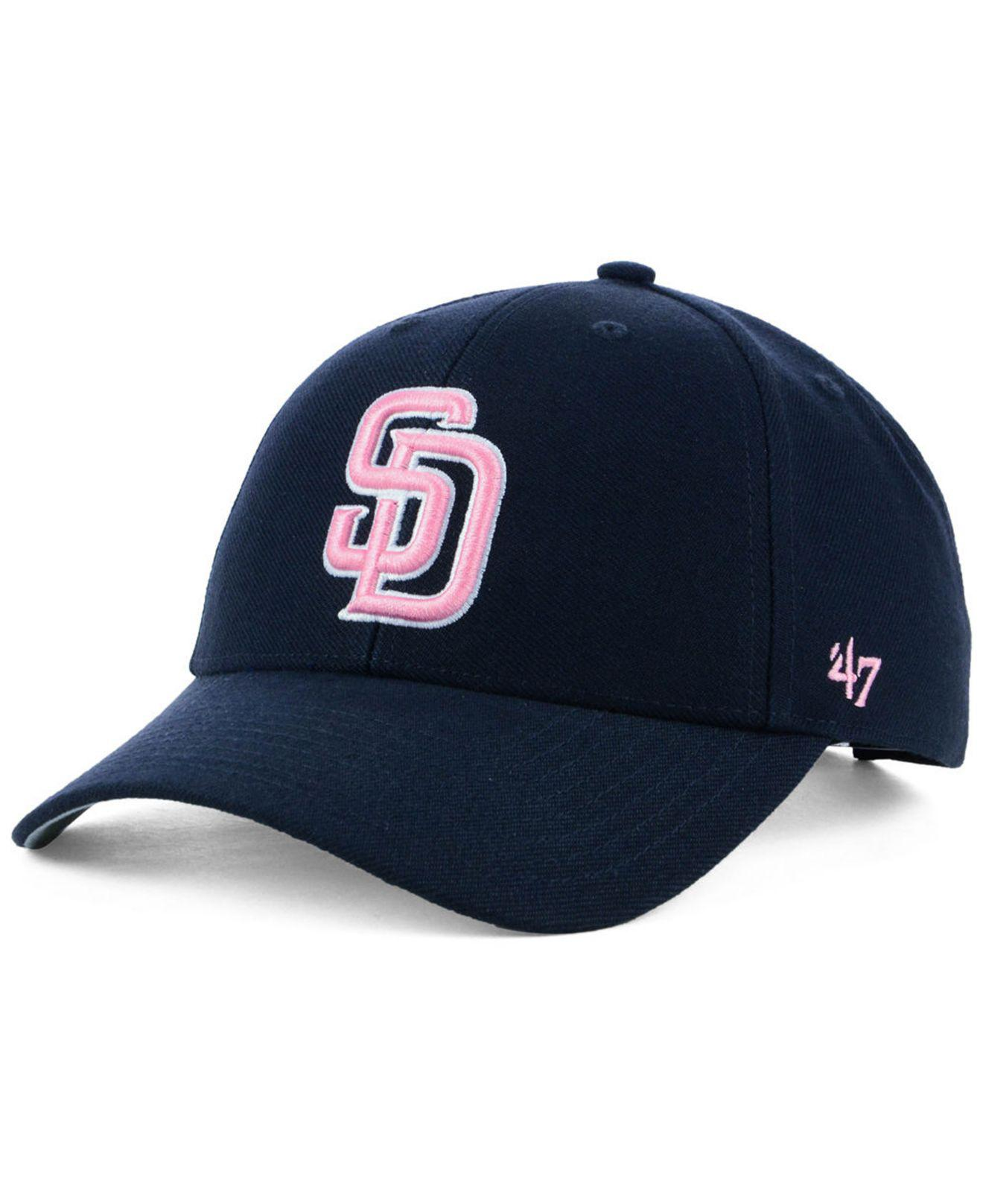 37f6fcd97 ... where can i buy 47 brand. mens blue san diego padres navy pink mvp cap