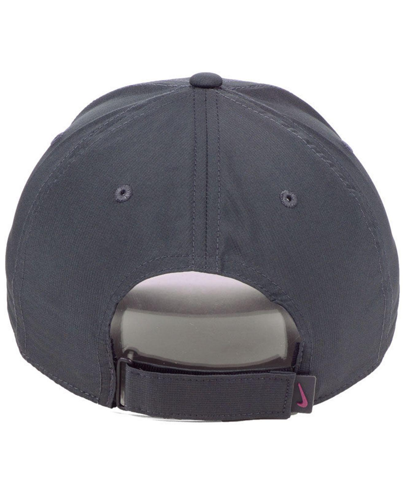 uk availability 56bf8 a4b46 ... promo code nike gray minnesota golden gophers dri fit adjustable cap  for men lyst. view