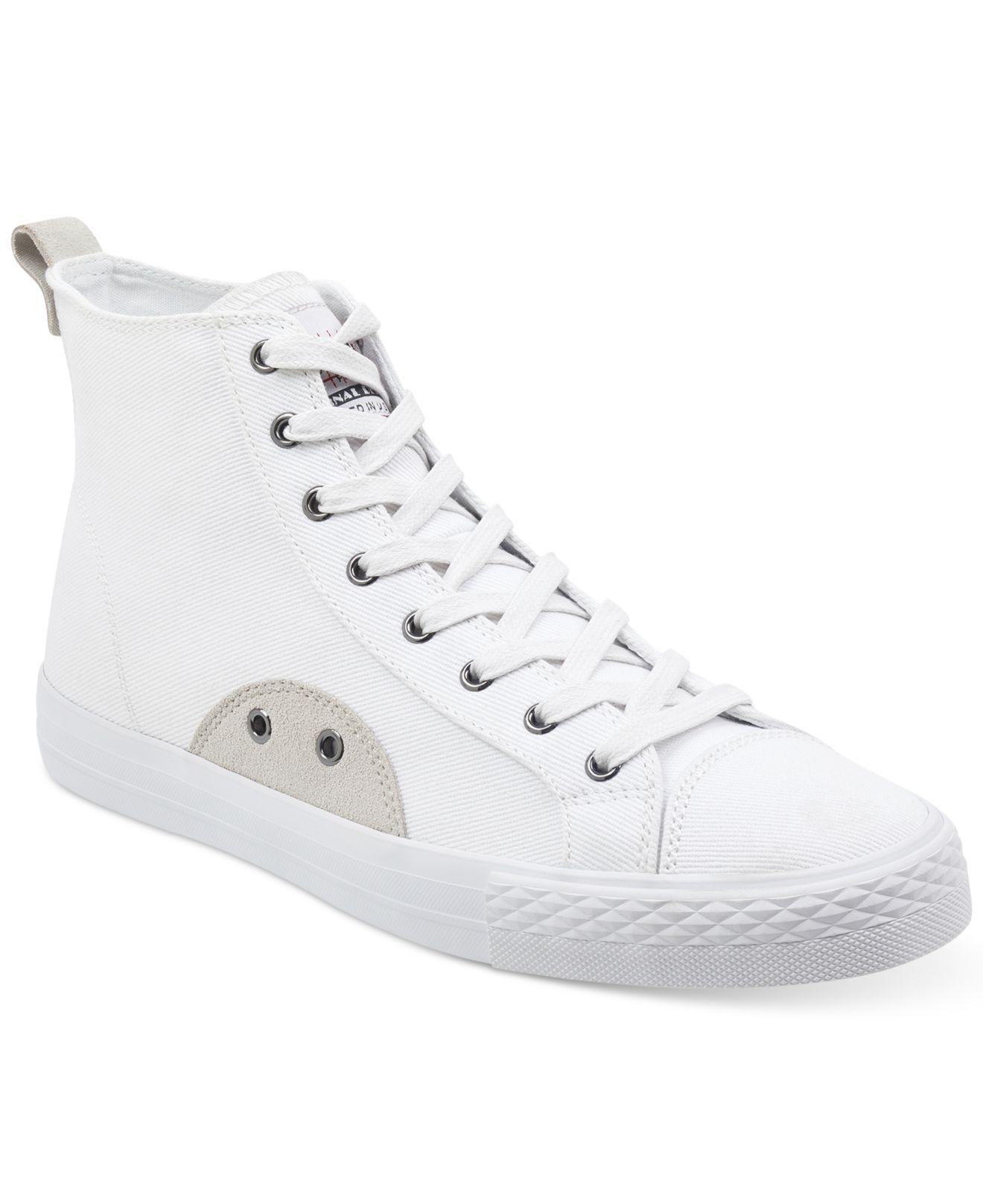Guess Men's Perio High-Top Sneakers Men's Shoes ndcORJ