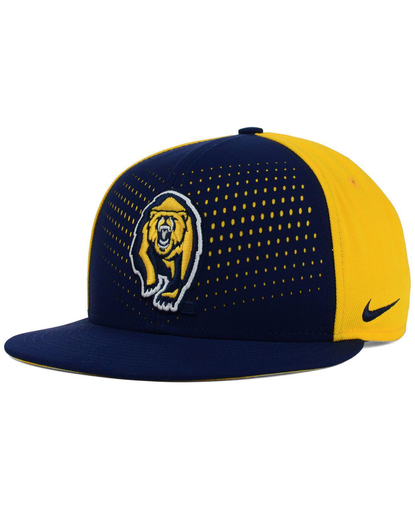 3e1e42ff990d7 ... release date lyst nike california golden bears true seasonal snapback  cap in 15b58 6b265