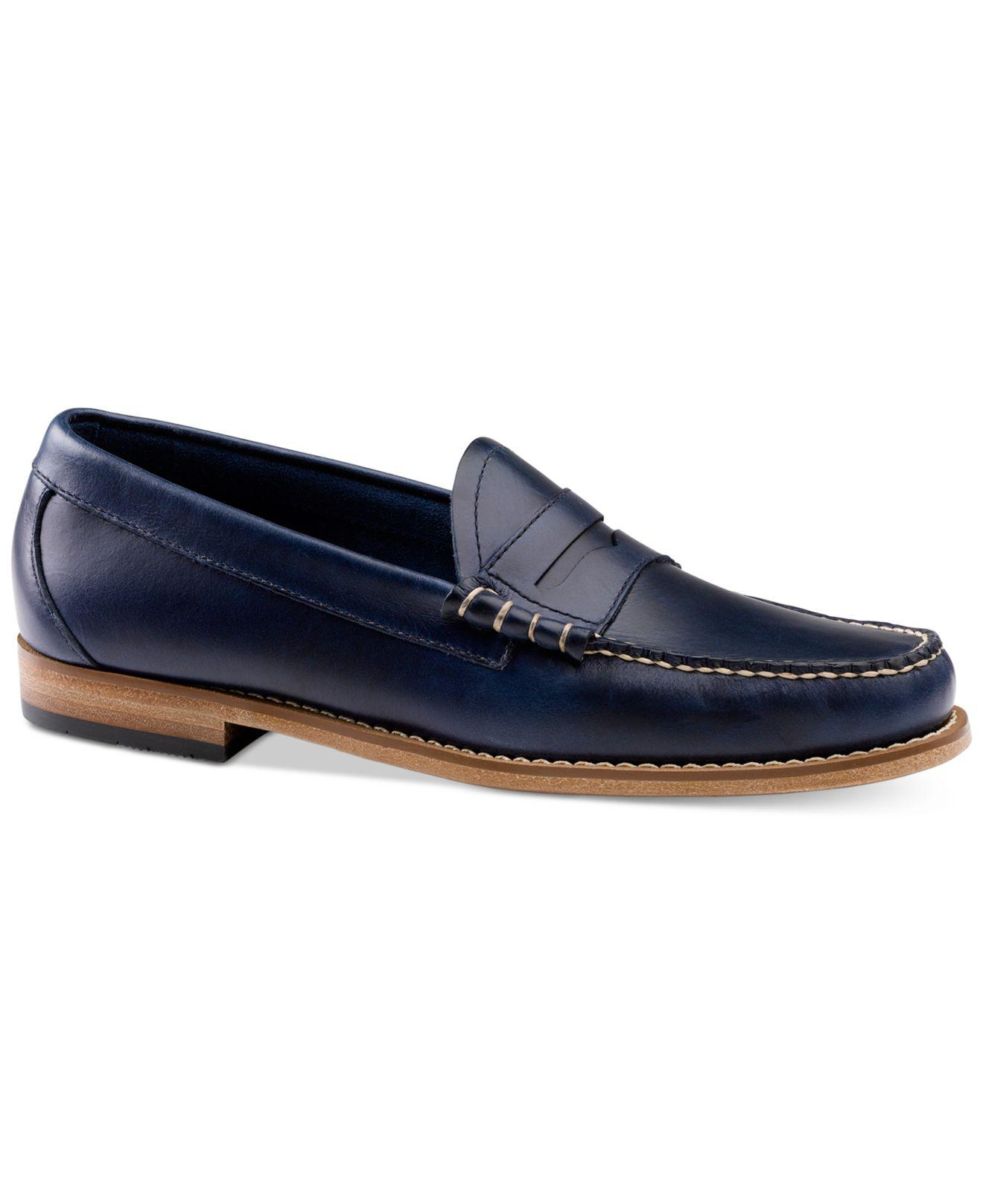 98b8687d867 Lyst - G.H.BASS Men s Larson Loafers in Blue for Men