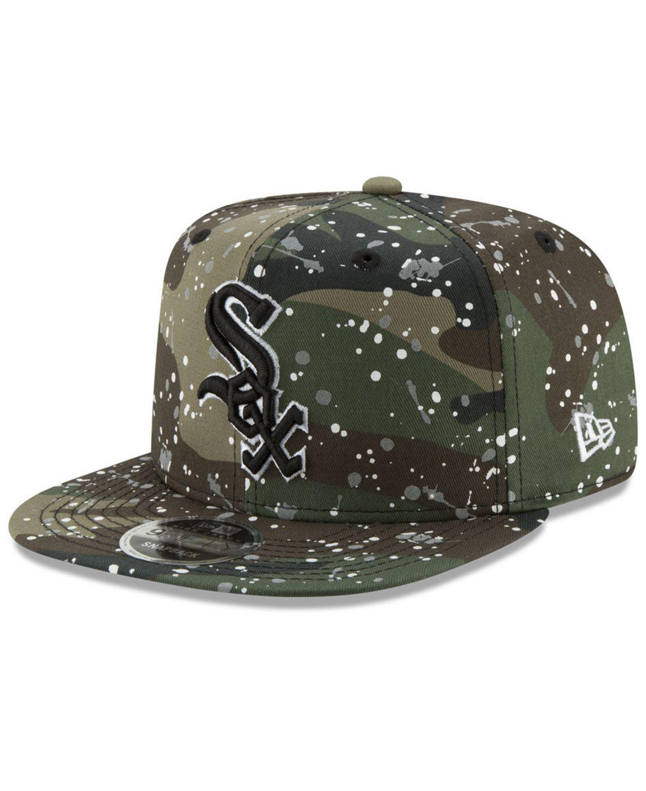 ... new era 20721853 black 2190e eb753  ebay ktz. mens green chicago white  sox camo spec 9fifty snapback cap 393e6 493da a888be87574c