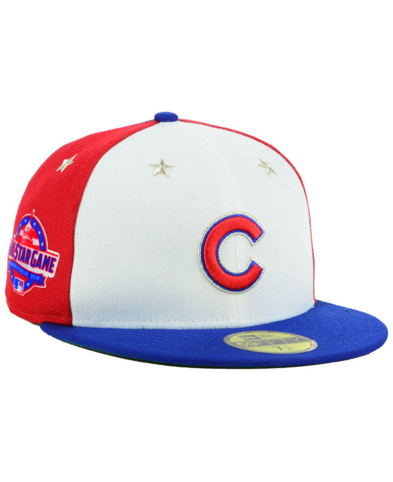 a42fbdd8fd1 Lyst - Ktz Chicago Cubs All Star Game Patch 59fifty Fitted Cap for Men