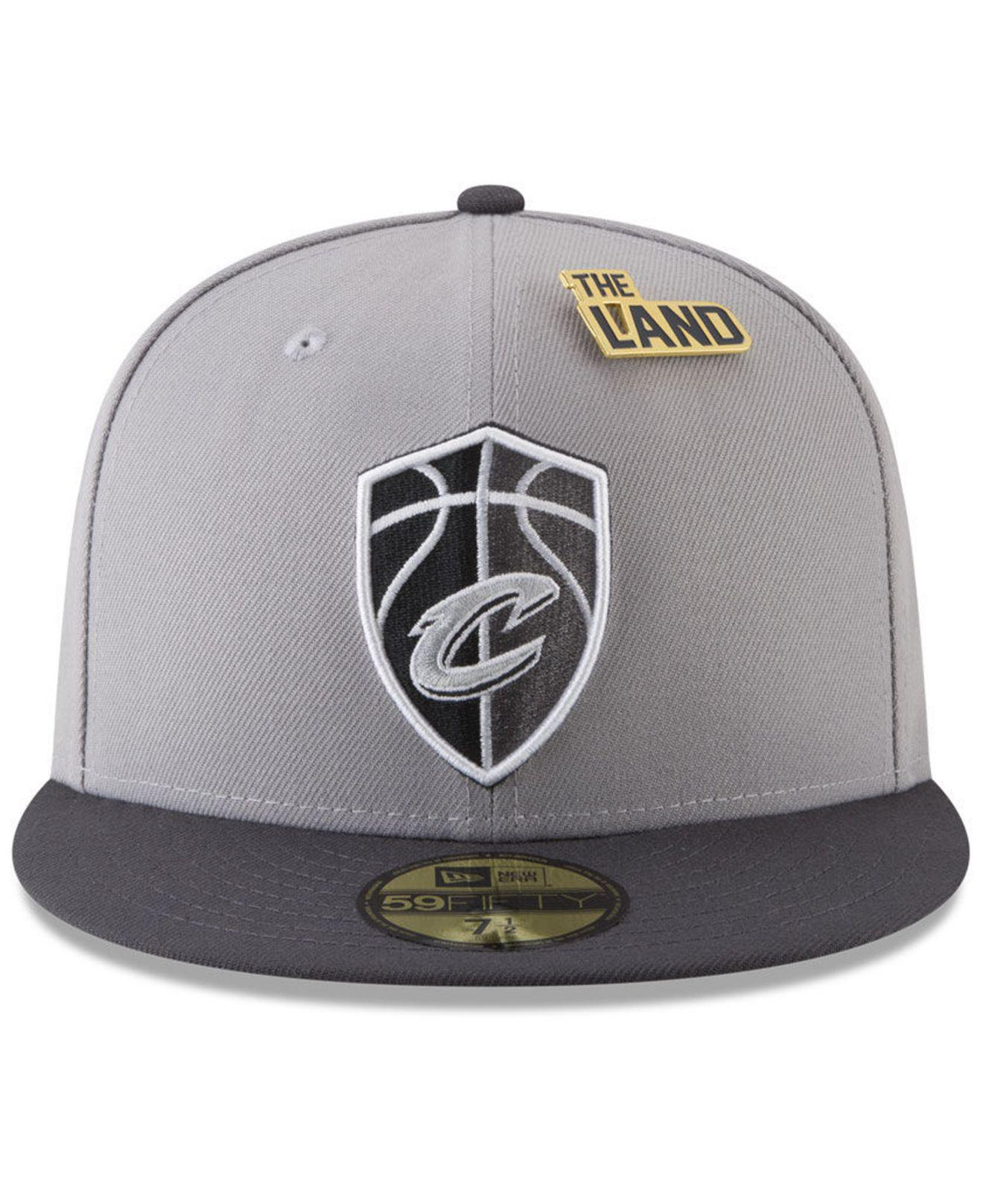 meet 89e6d 3c0b6 Lyst - KTZ Cleveland Cavaliers City On-court 59fifty Fitted Cap in Metallic  for Men