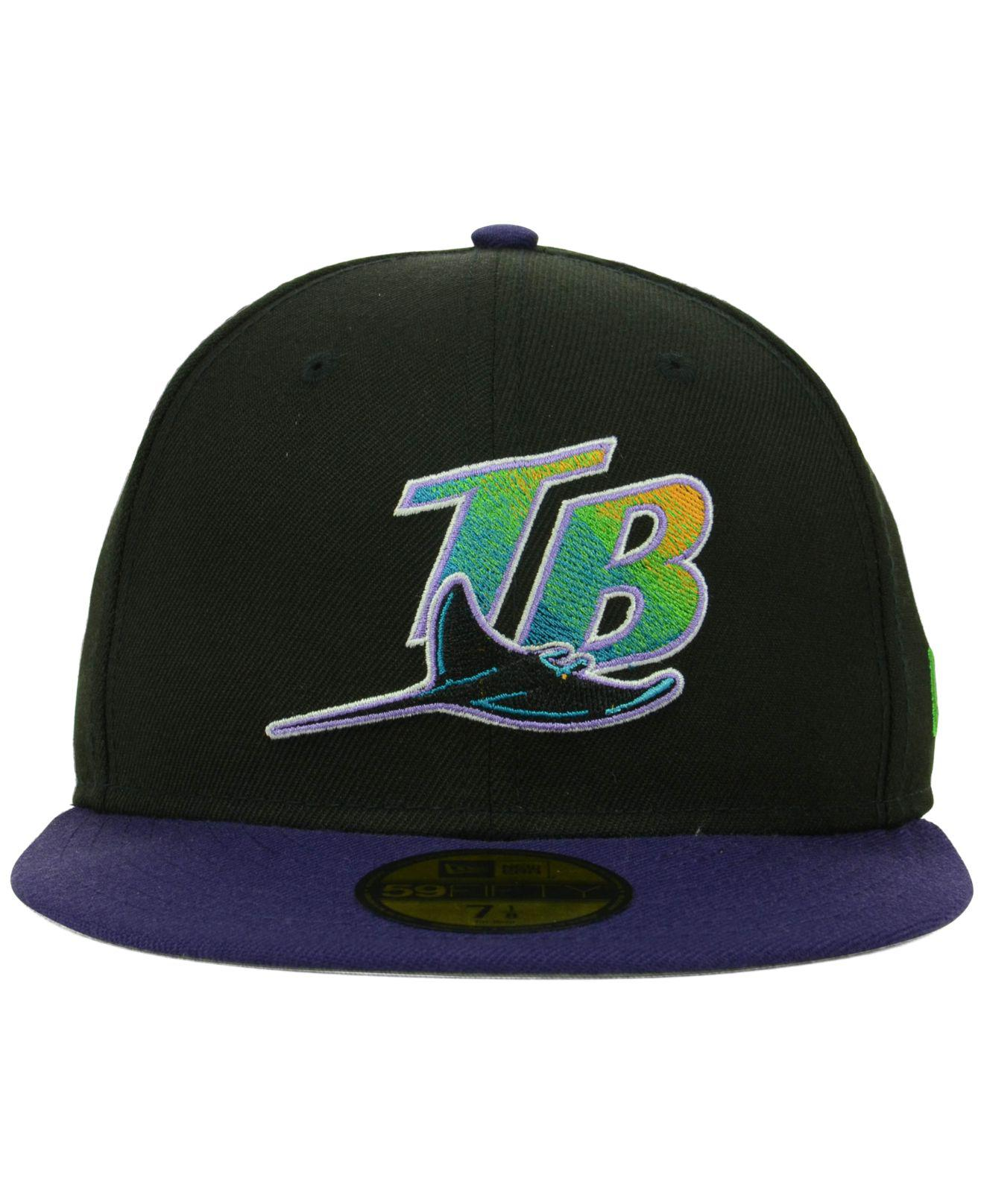 new style bbbb8 c3ff8 Lyst - KTZ Tampa Bay Rays Cooperstown 59fifty Cap in Blue for Men