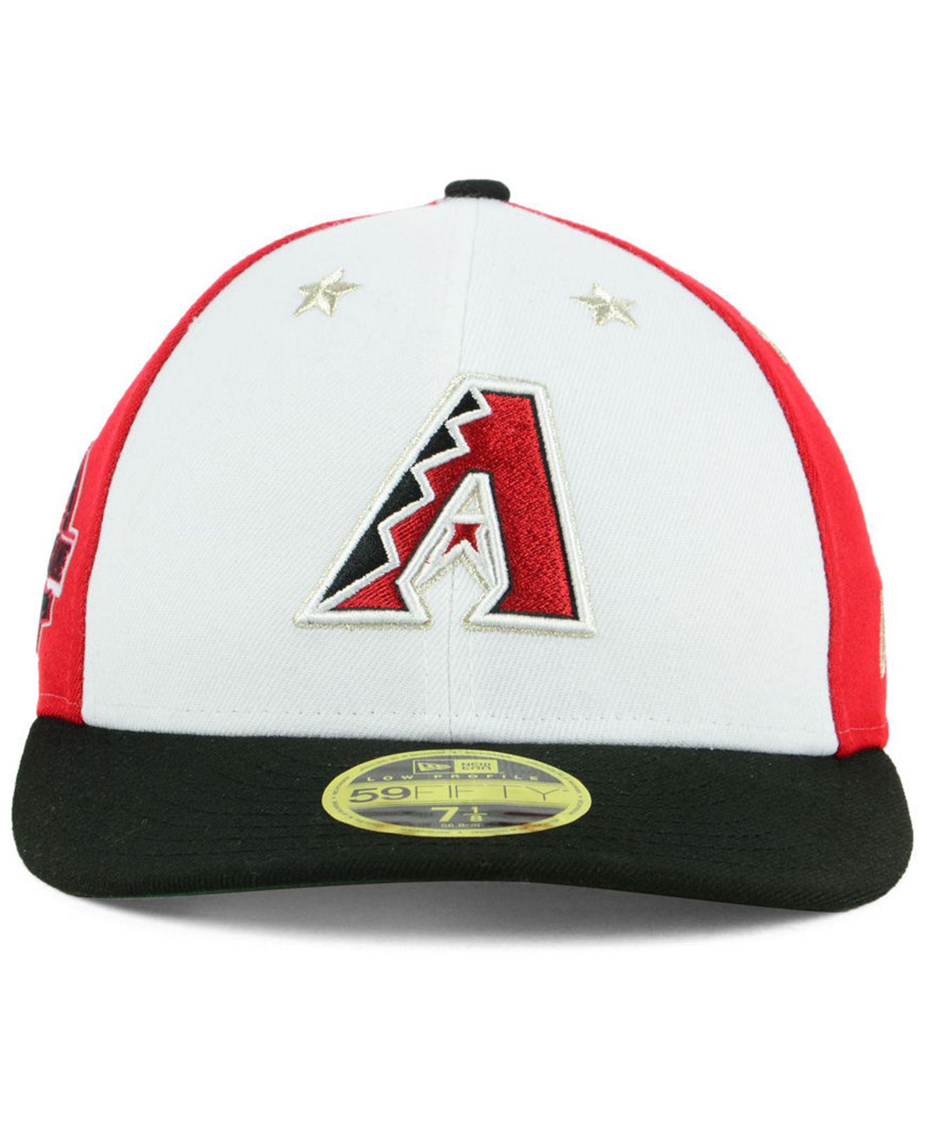 new style f930d 0ae0d ... new style lyst ktz arizona diamondbacks all star game patch low profile  59fifty fitted cap 2018