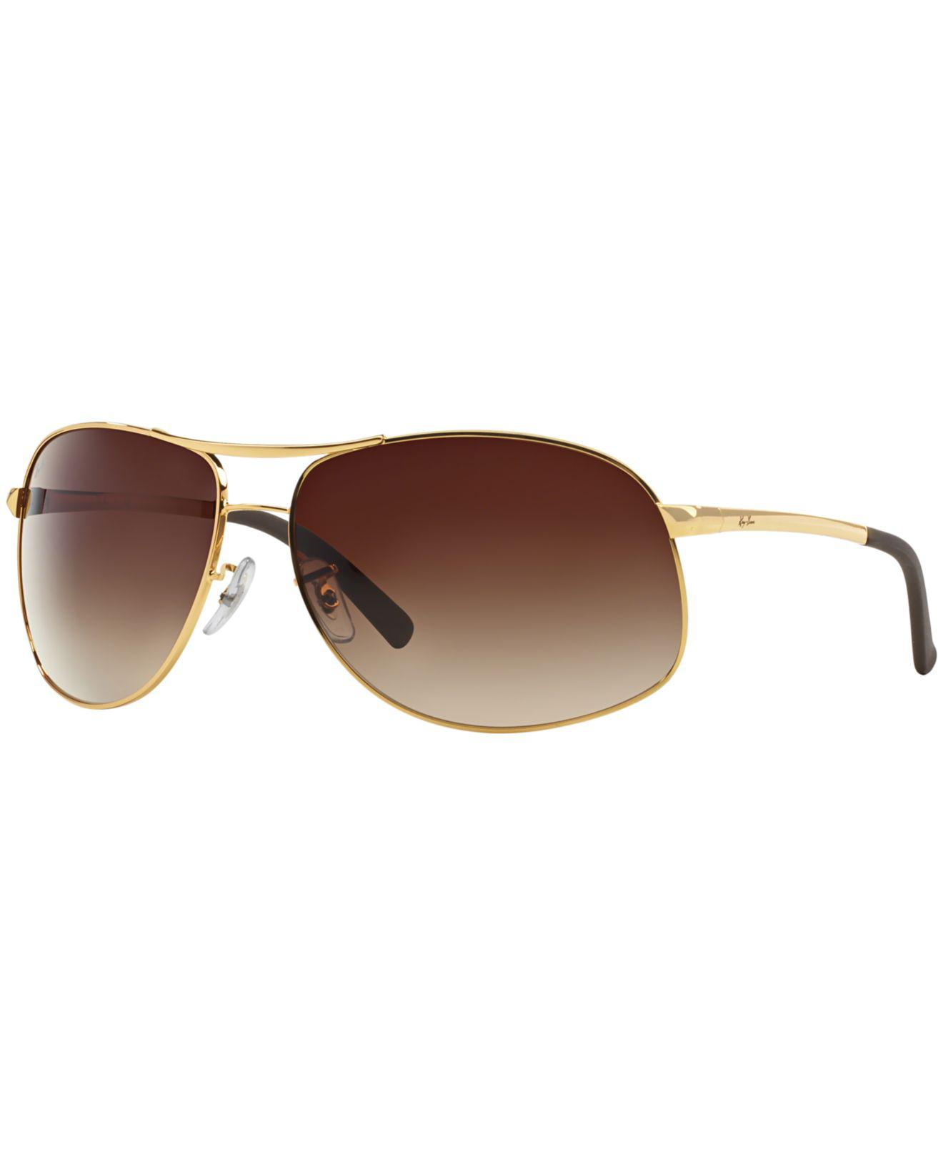 ec1bf15950a Lyst - Ray-Ban Rb3387 64 in Metallic