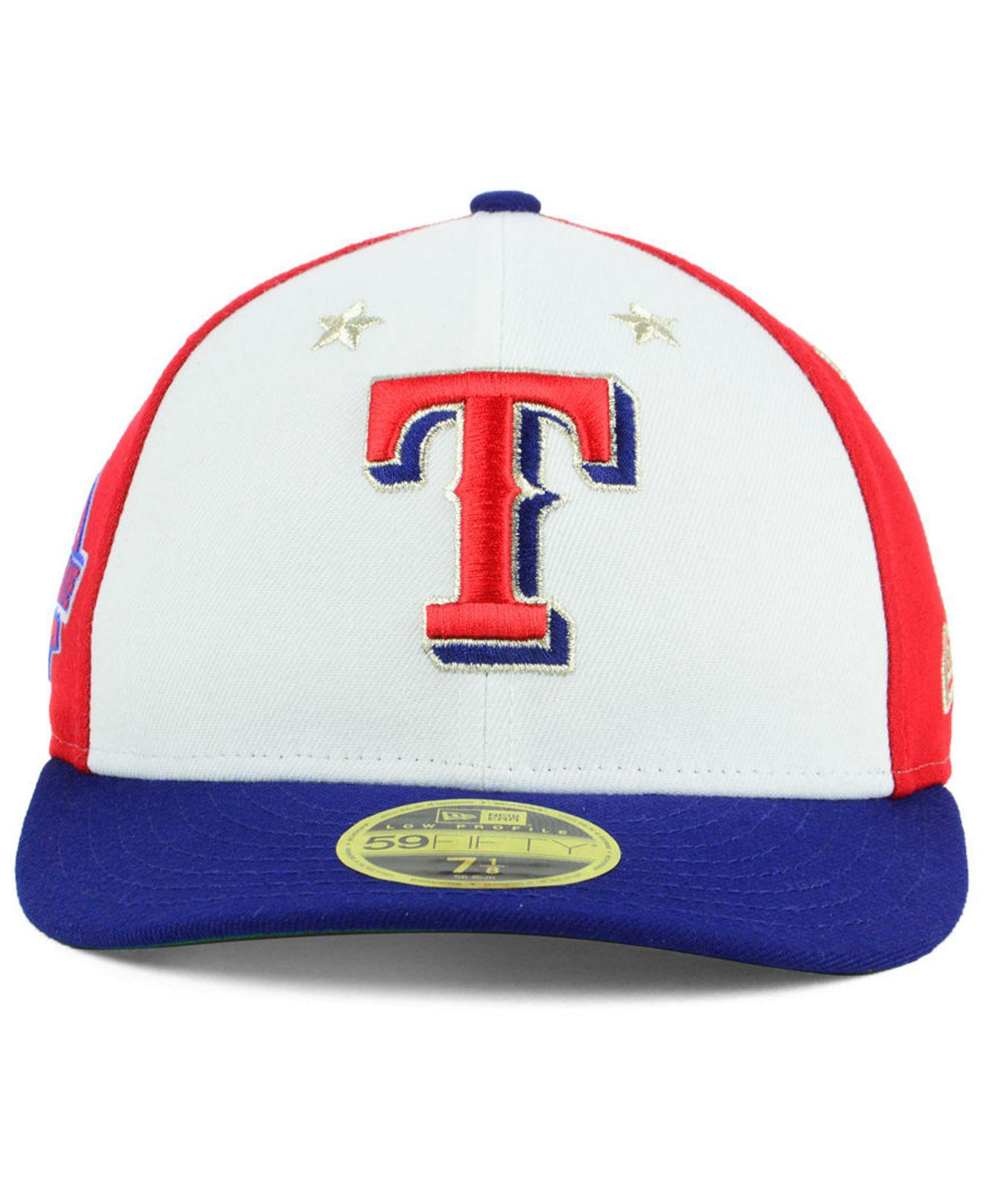 low priced 28399 57124 ... czech lyst ktz texas rangers all star game patch low profile 59fifty  fitted cap 2018 in