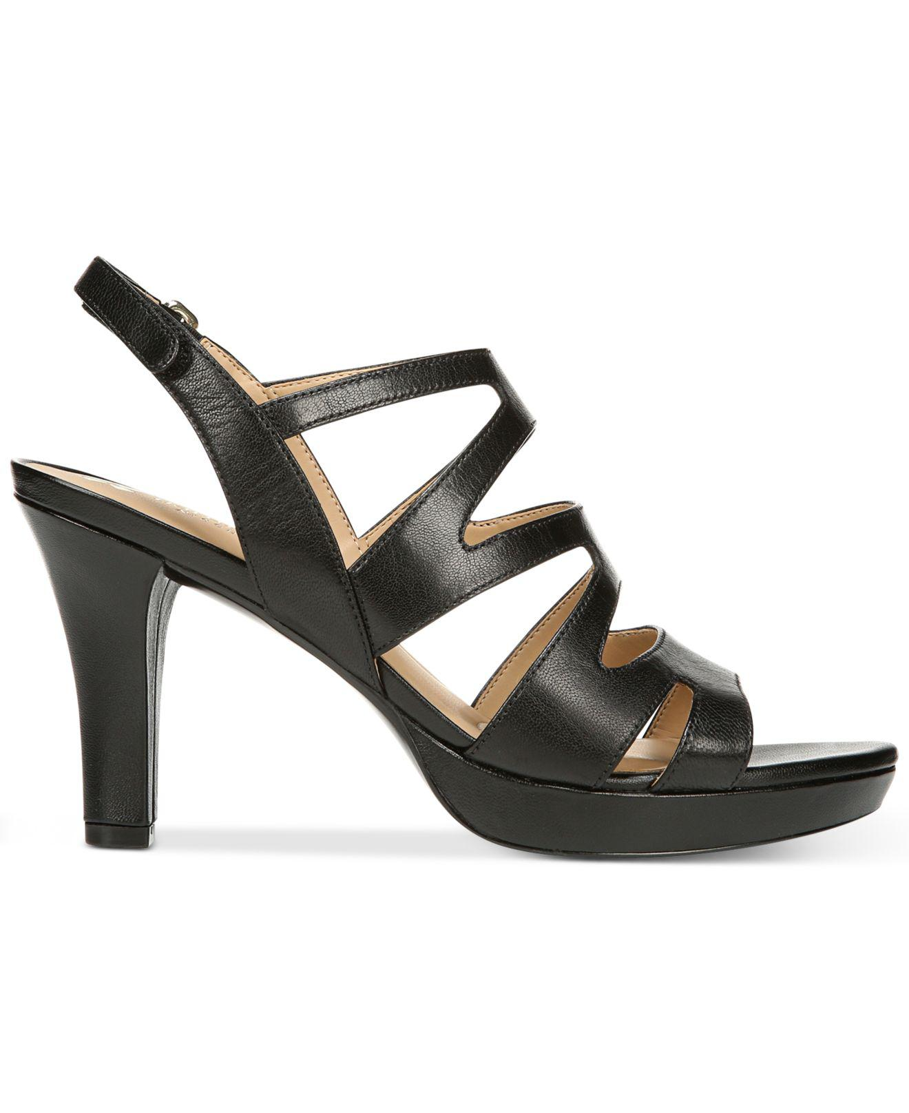 f930a1c088b3 Lyst - Naturalizer Pressley Sandals in Black