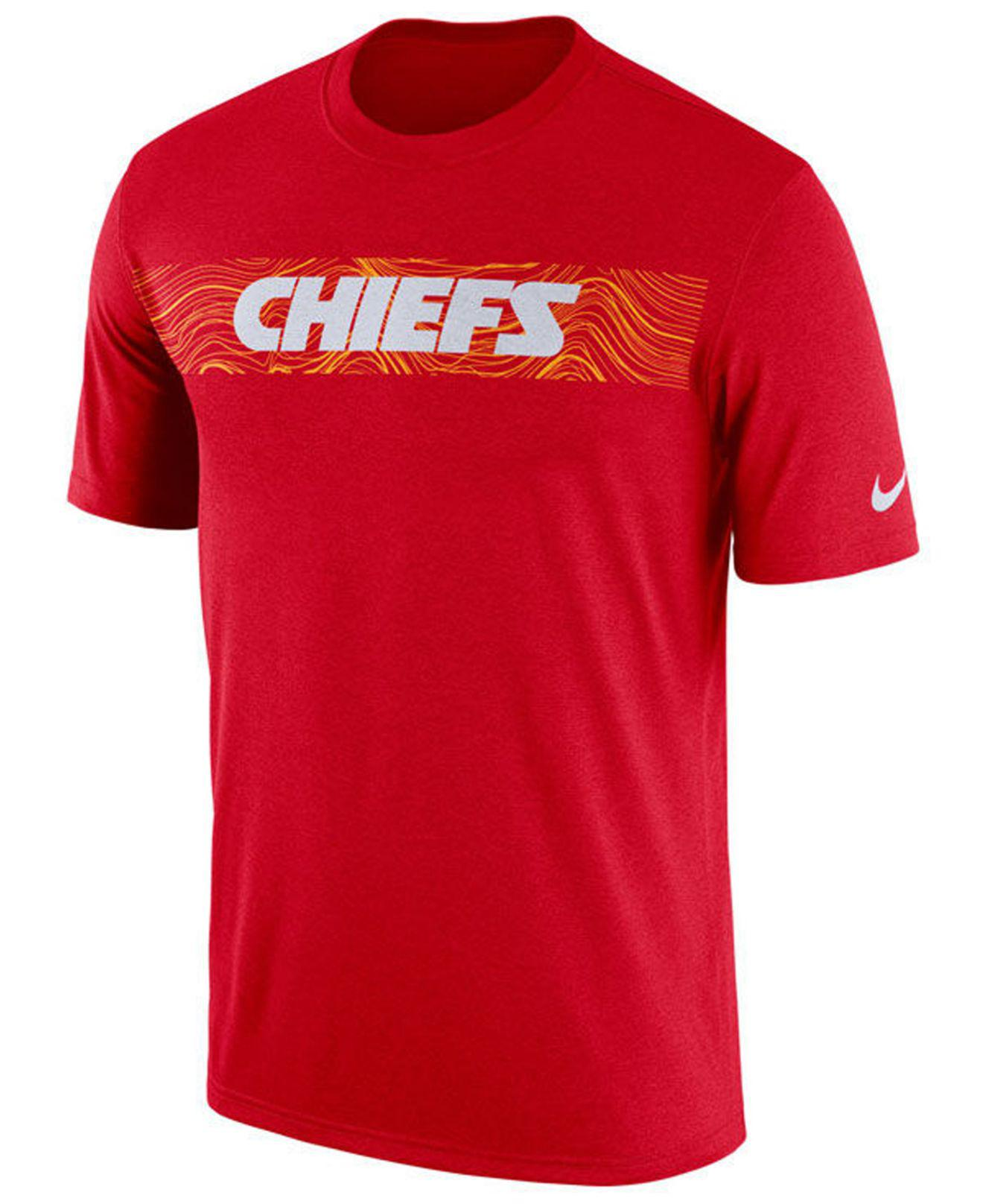 Lyst - Nike Kansas City Chiefs Legend On-field Seismic T-shirt in Red for  Men 8d296104f