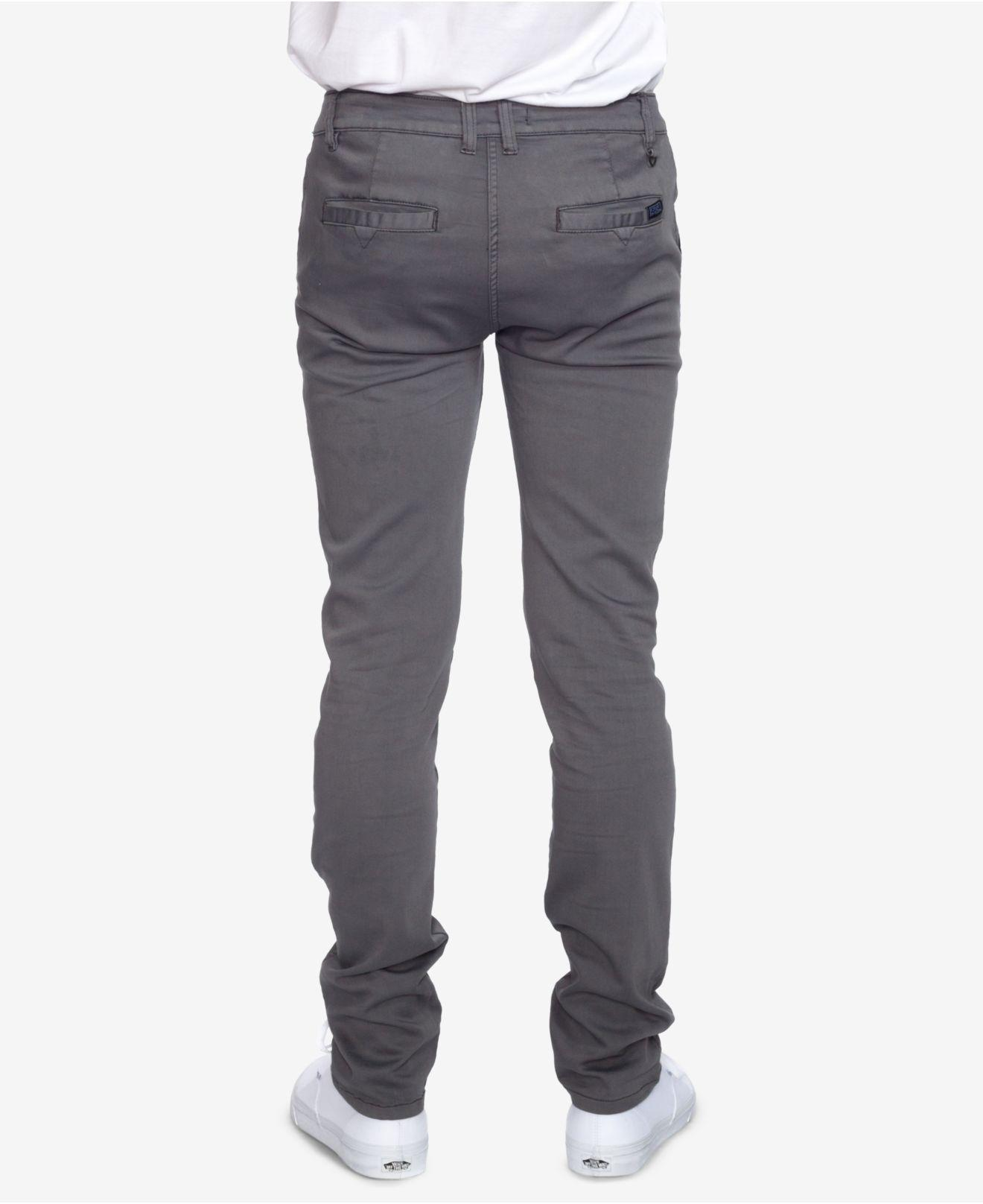 b2b9398a Ezekiel Mens Slim-fit Stretch Jeans in Gray for Men - Lyst