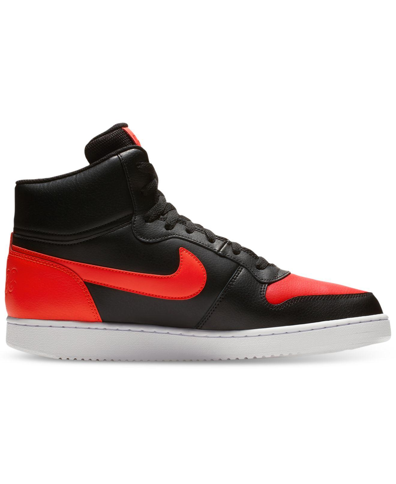 low priced dcc3e 772f8 Nike Ebernon Mid Casual Sneakers From Finish Line for Men - Save 13% - Lyst