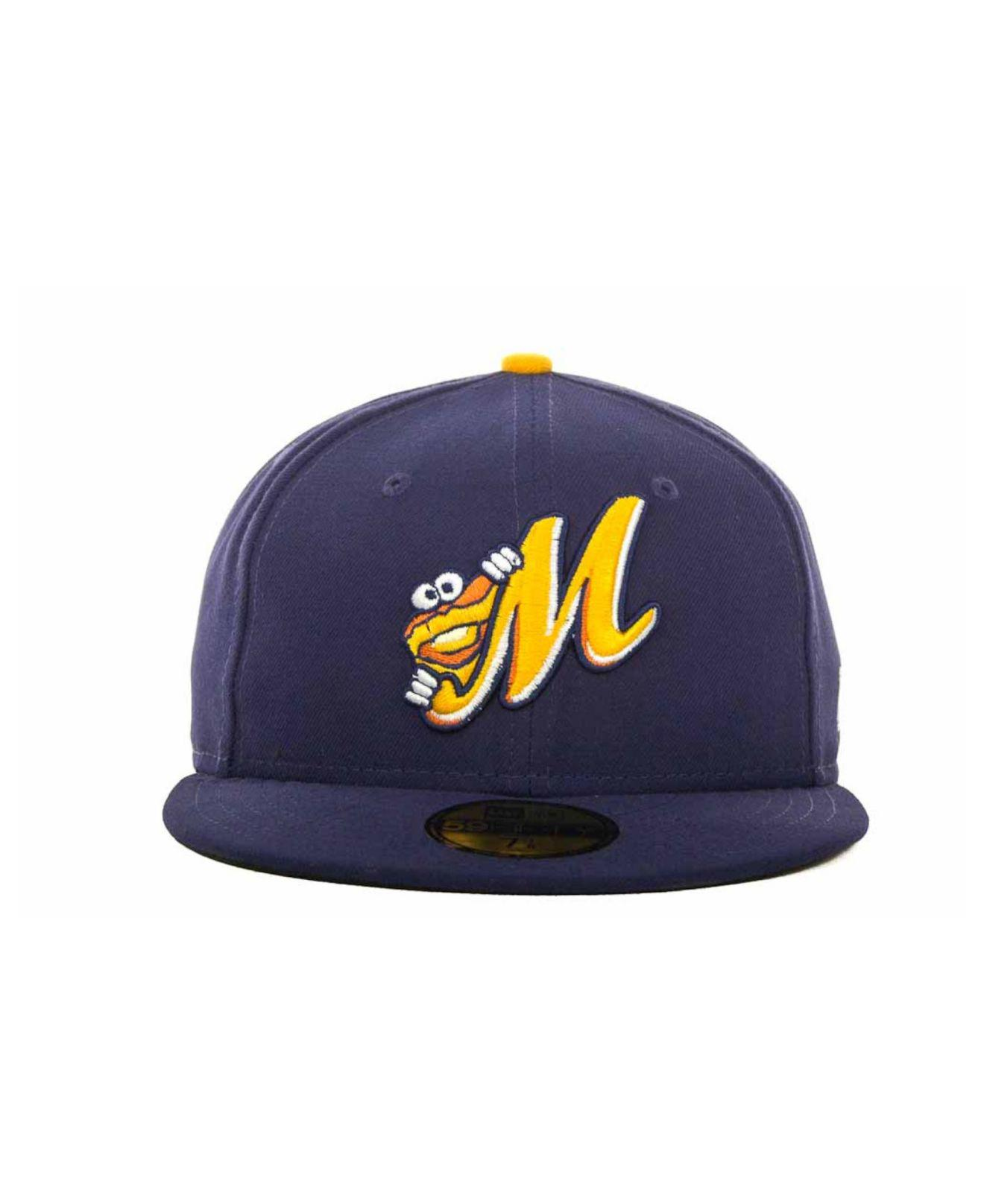 6c59ba1a9b5 Lyst - KTZ Montgomery Biscuits Milb 59fifty Cap in Blue for Men