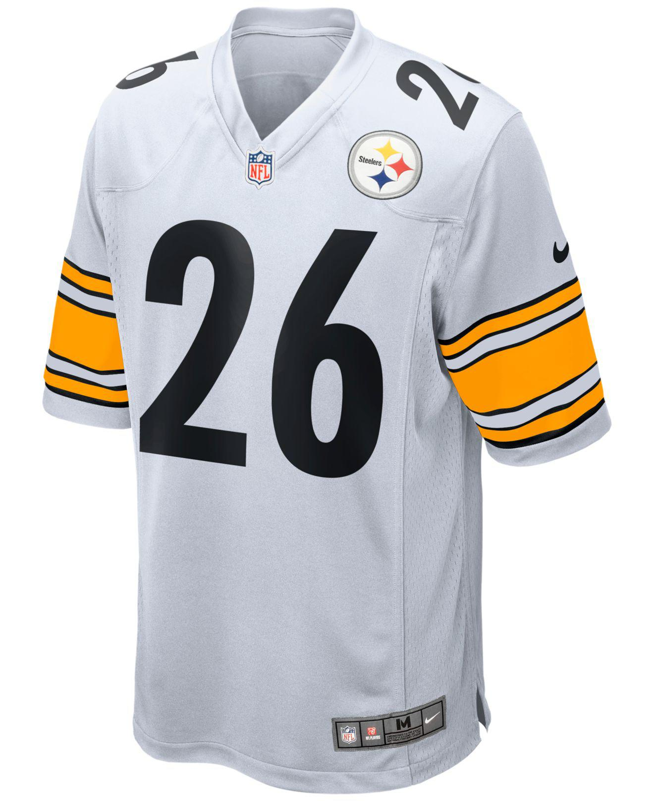 966e4fb7b ... 26 cddc8 10738 new arrivals lyst nike mens leveon bell pittsburgh  steelers game jersey in white for men 4f842 ...
