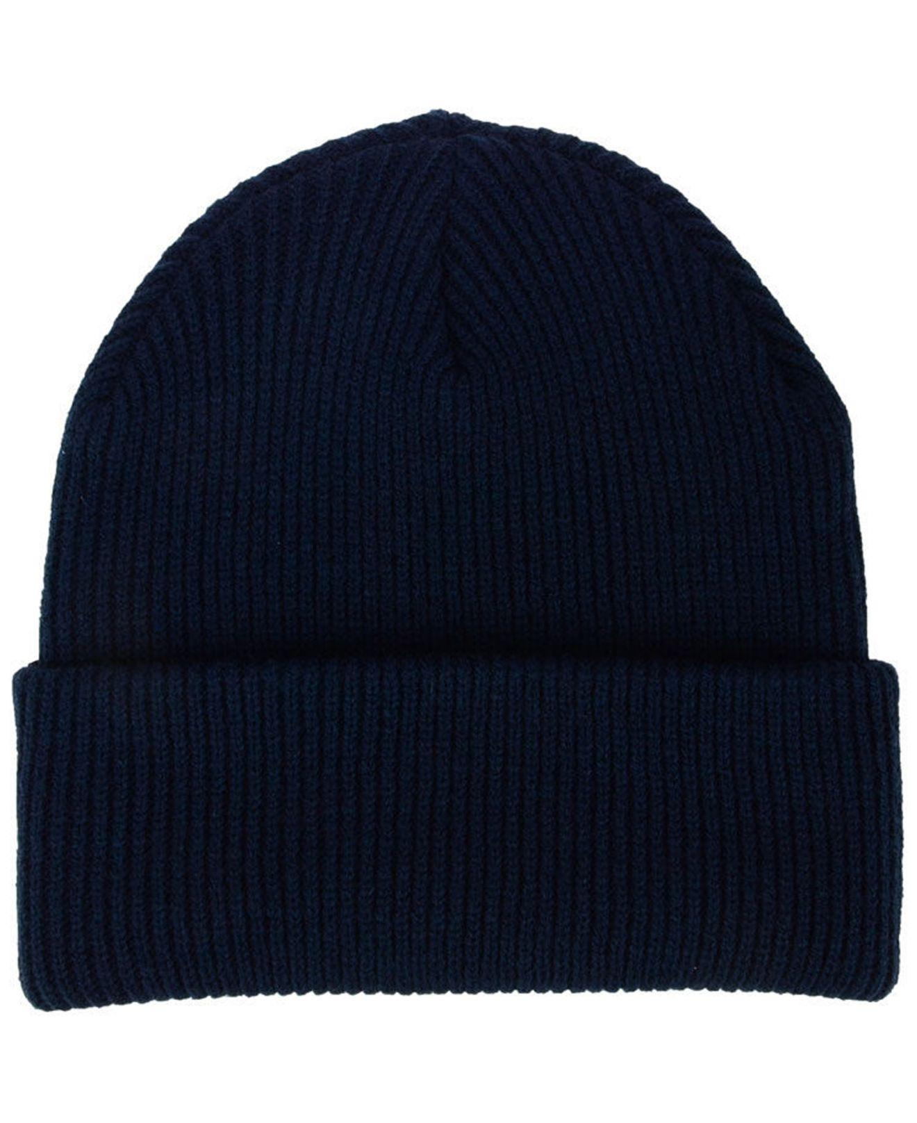 new product 79596 8387f ... new style lyst 47 brand chicago bears ice block cuff knit hat in blue  for men