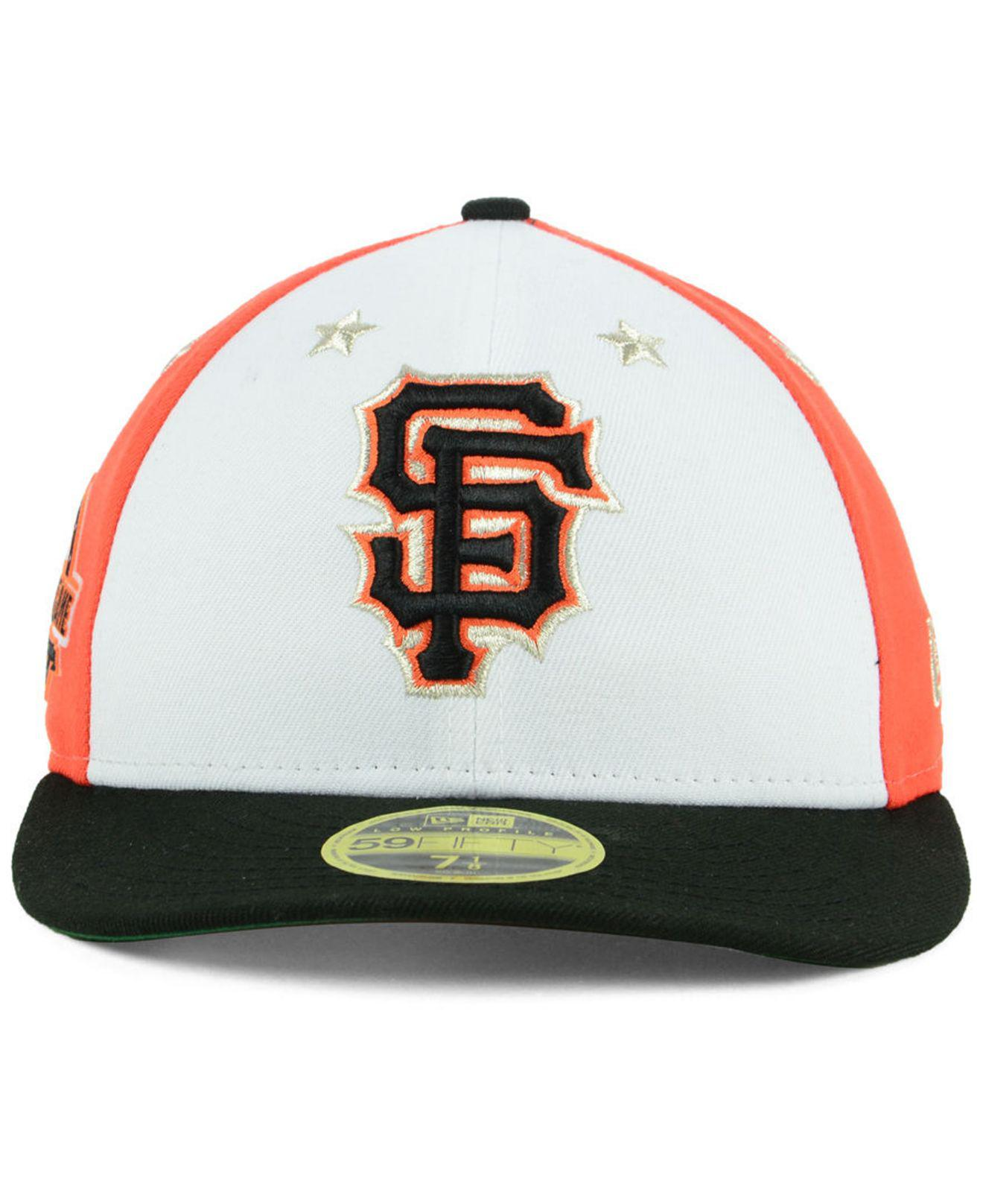 pretty nice 99a55 ac500 ... coupon code for lyst ktz san francisco giants all star game patch low  profile 59fifty fitted