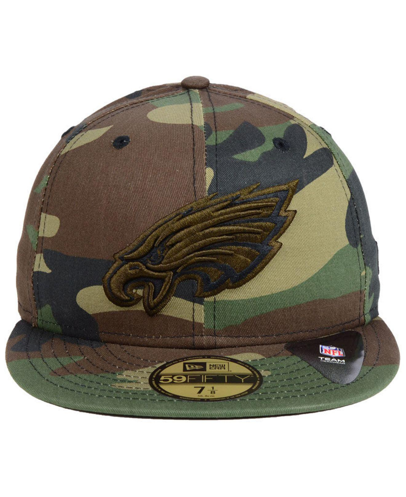 Lyst - KTZ Philadelphia Eagles Woodland Prism Pack 59fifty-fitted Cap in  Green for Men 9f22384f5