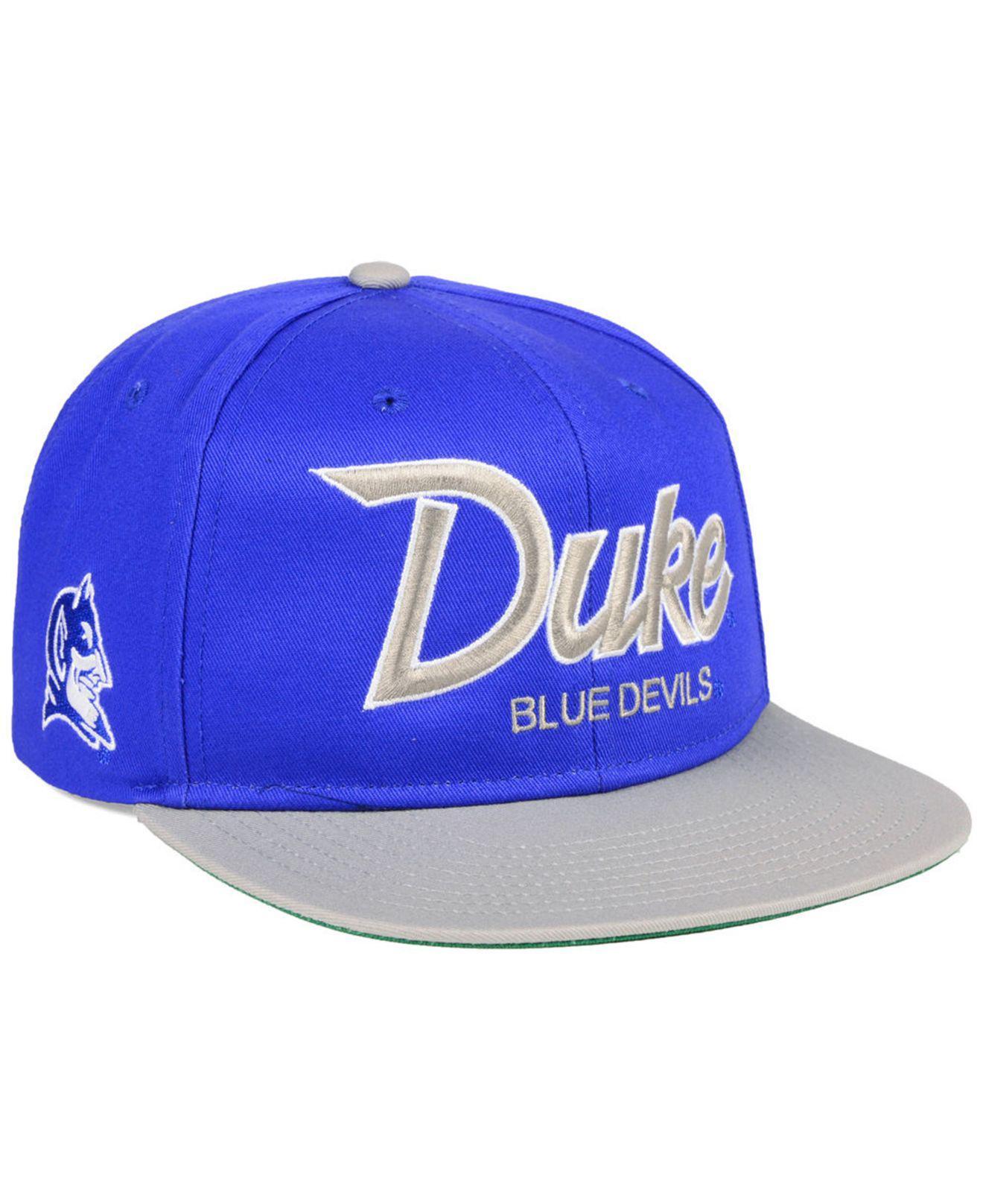 quality design dbdf5 5ee32 ... where can i buy lyst nike duke blue devils sport specialties snapback  cap in blue e0b72