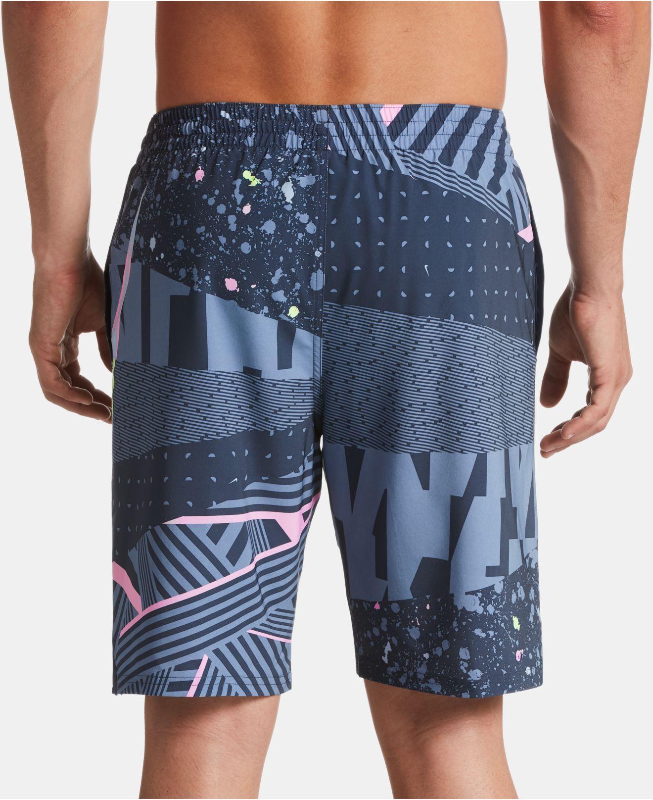 7e8137cea5758 Novelty & More Mr.Macy Surf Mens Quick Dry Swim Trunks Bathing Suit Beach  Shorts