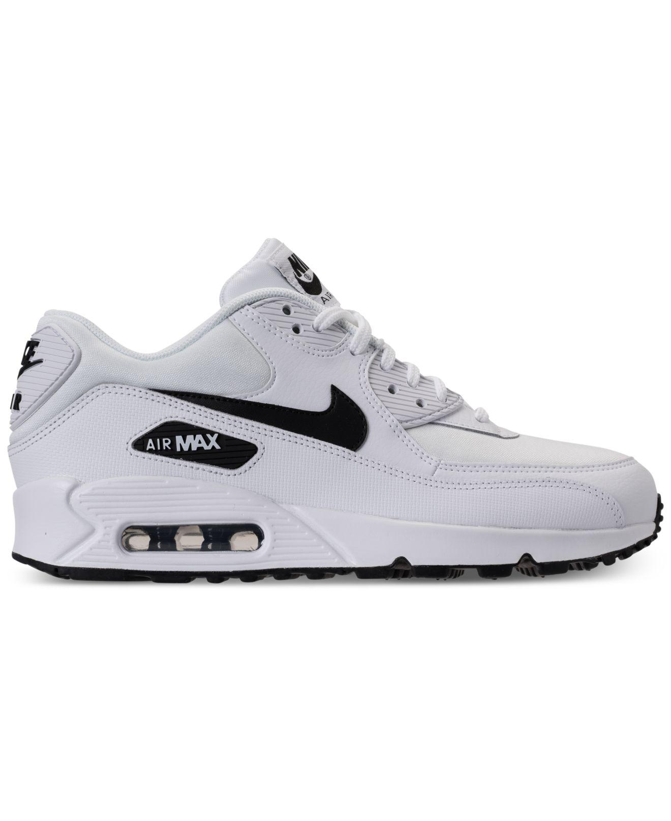 78e4acacc605 ... new zealand lyst nike air max 90 running sneakers from finish line in  white 95453 c1676