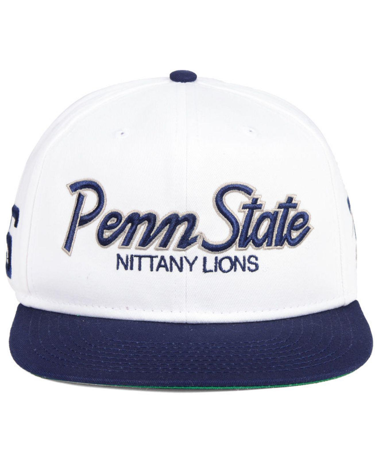 819638fbfe3 Lyst - Nike Penn State Nittany Lions Sport Specialties Snapback Cap in  White for Men