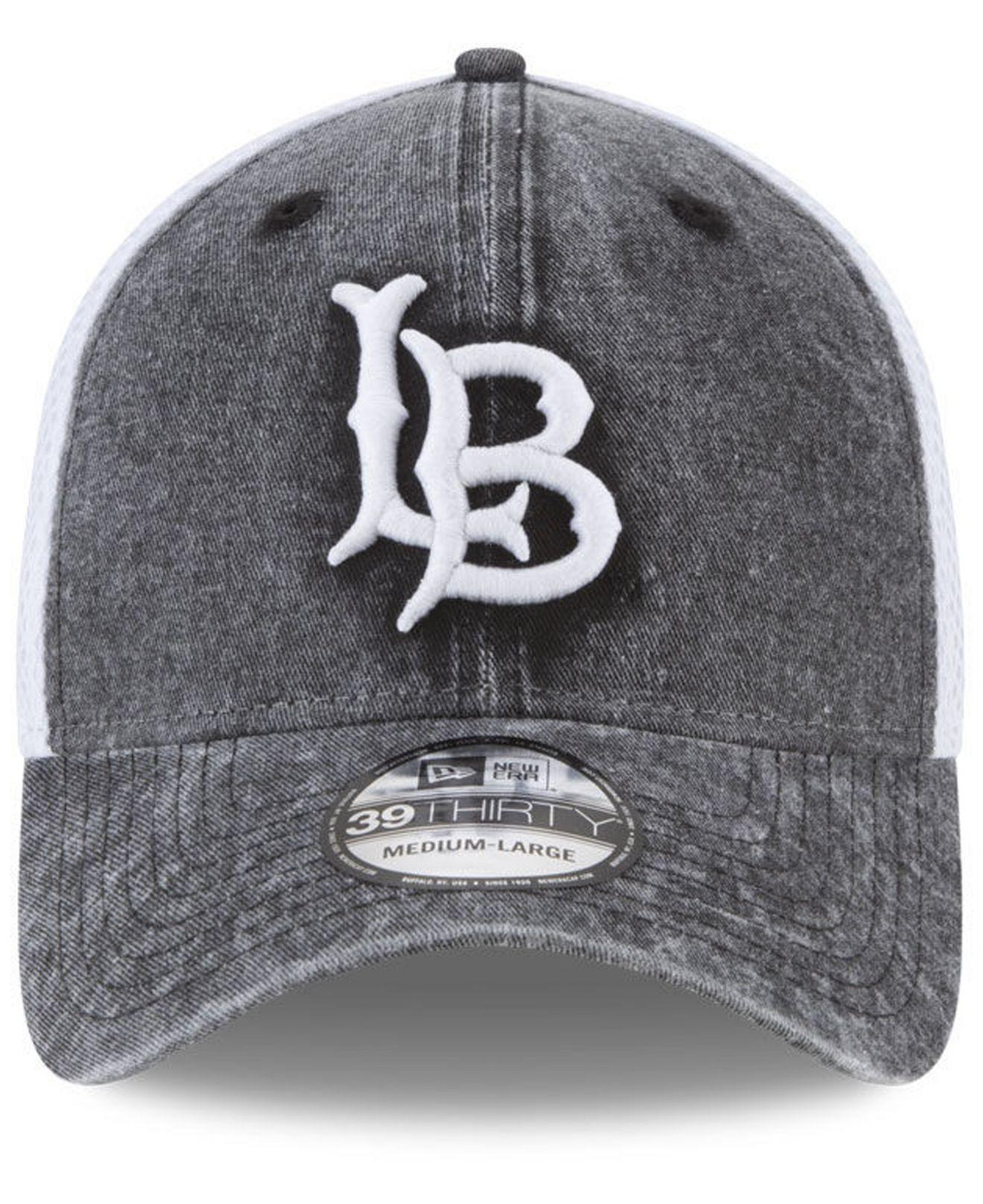new concept 82379 1949c ... ireland lyst ktz long beach state 49ers washed neo 39thirty cap in  black for men 439ae