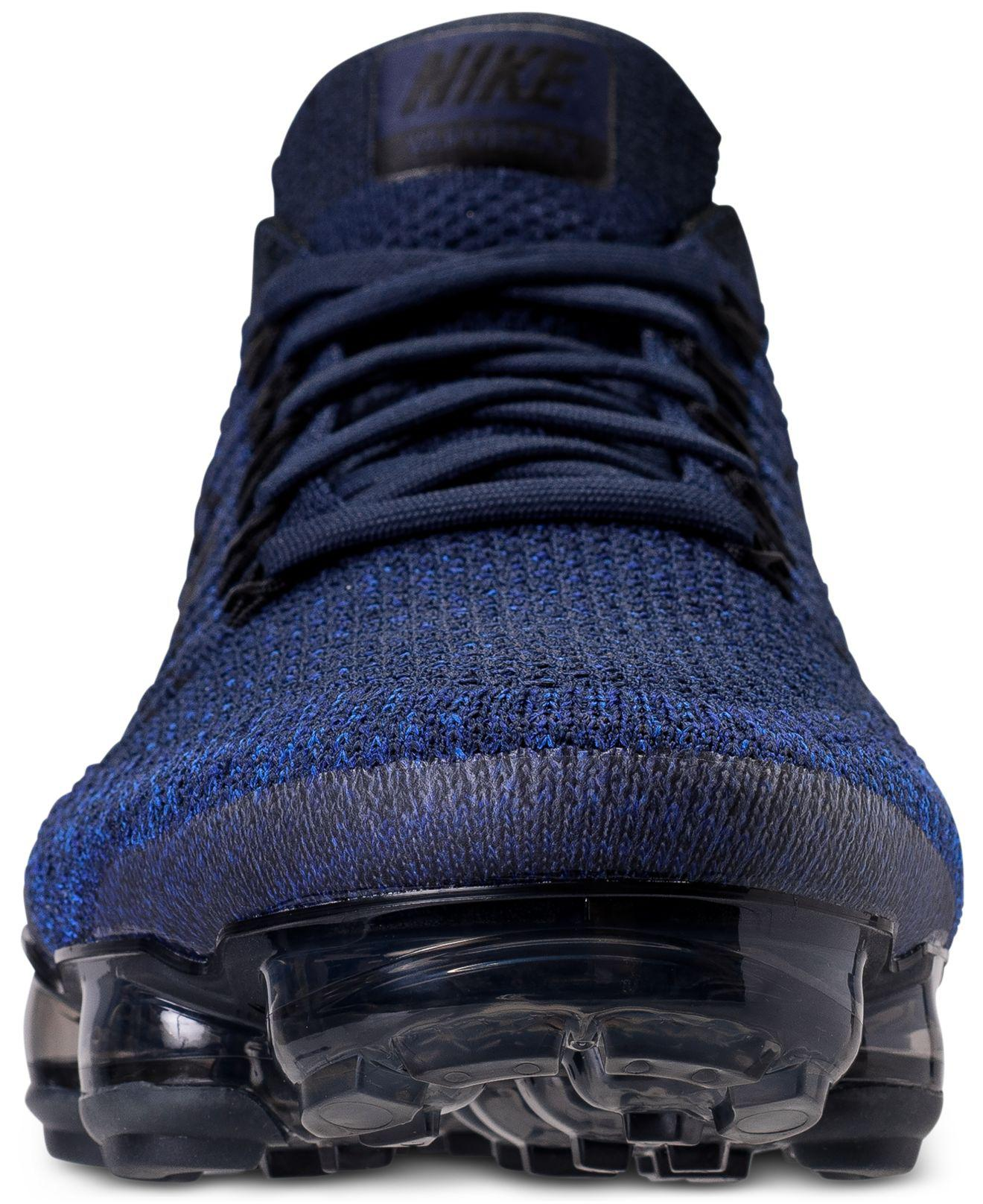 b223adae3099a Lyst - Nike Men s Air Vapormax Flyknit Running Sneakers From Finish ...