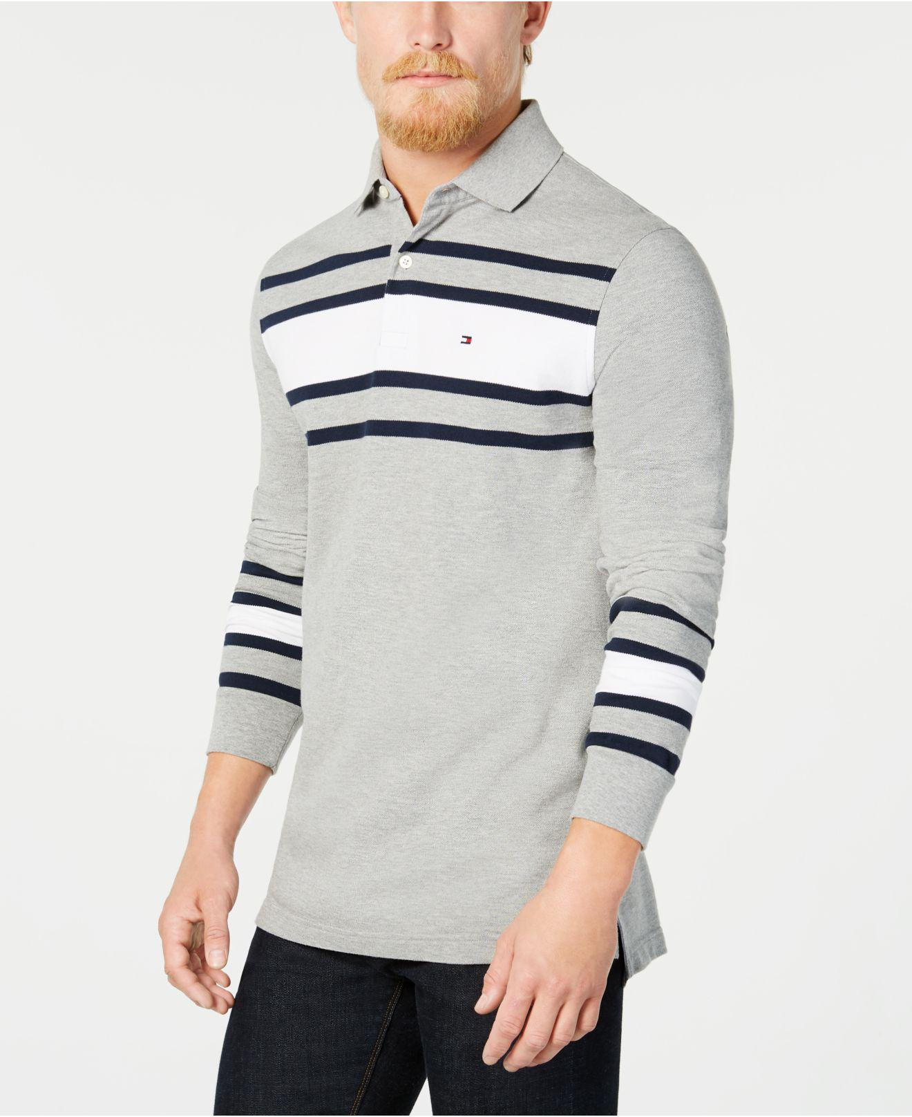b6962493 Tommy Hilfiger Lewiston Striped Polo, Created For Macy's for Men - Lyst