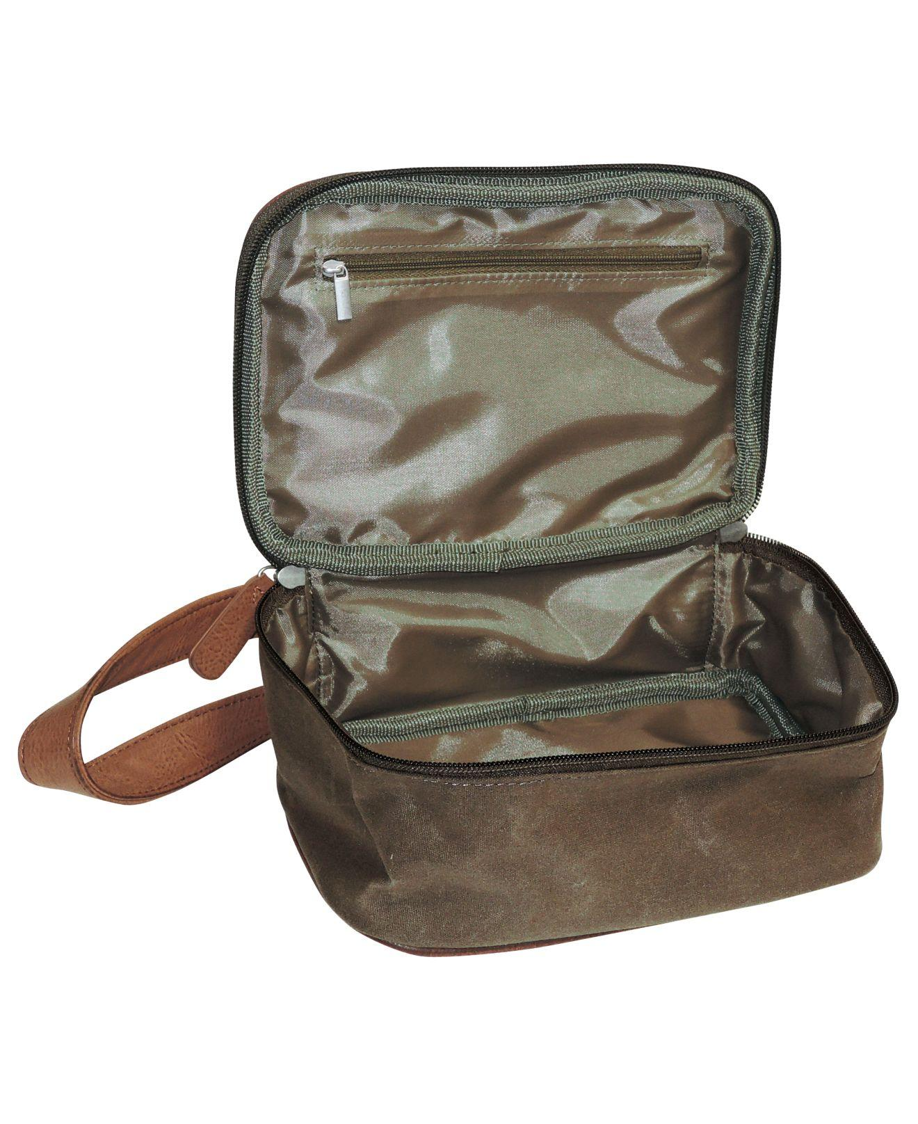 84e41a5889 Lyst - Buxton Expedition Ii Huntington Gear Top Zip Travel Kit for Men
