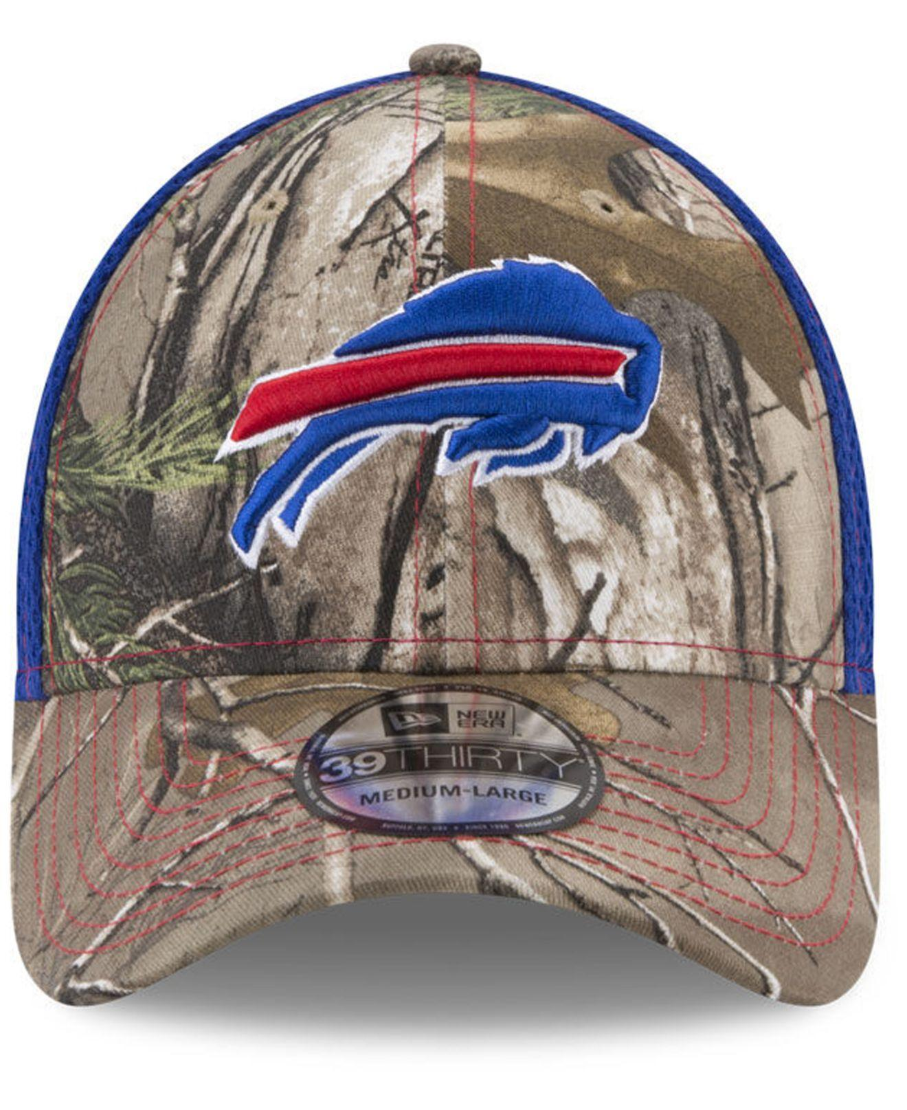 differently b0c15 3a4ad Lyst - KTZ Buffalo Bills Realtree Camo Team Color Neo 39thirty Cap in Blue  for Men