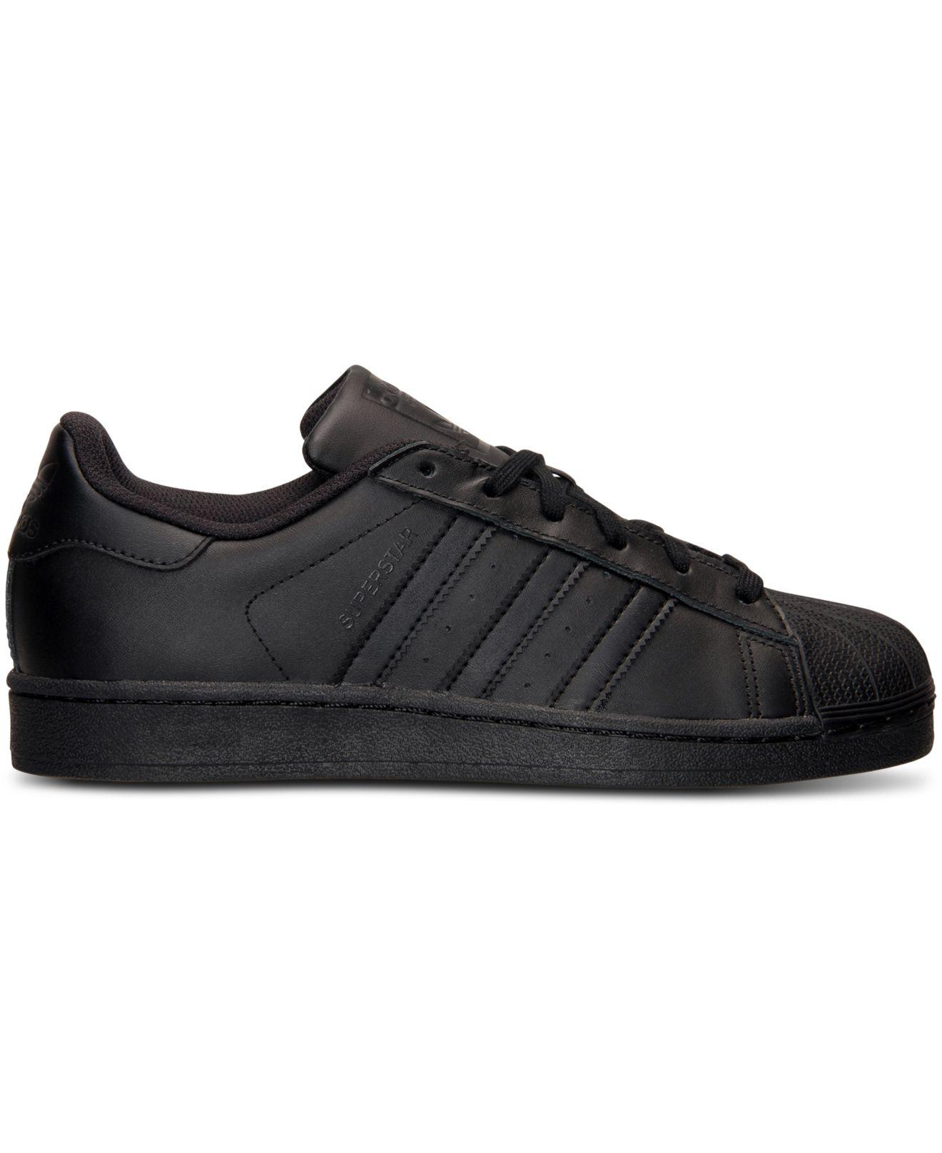 728c300a7 Lyst - adidas Superstar Casual Sneakers From Finish Line in Black for Men