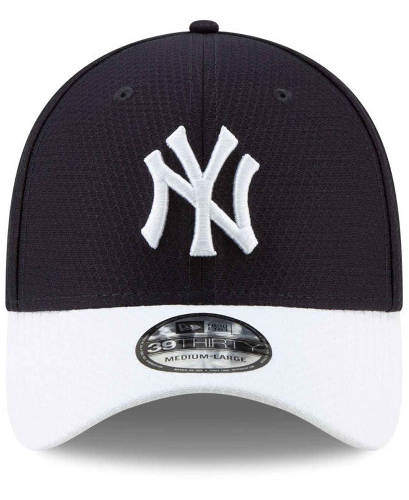 8d8bef22a24 Lyst - KTZ New York Yankees Batting Practice 39thirty Cap in Blue for Men