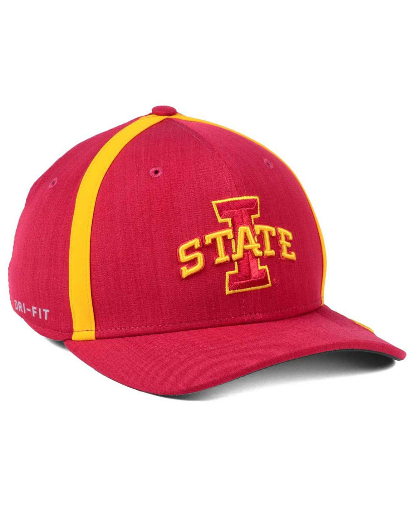 factory price 3a4f9 ed7f1 Lyst - Nike Aerobill Classic Sideline Swoosh Flex Cap in Red for Men