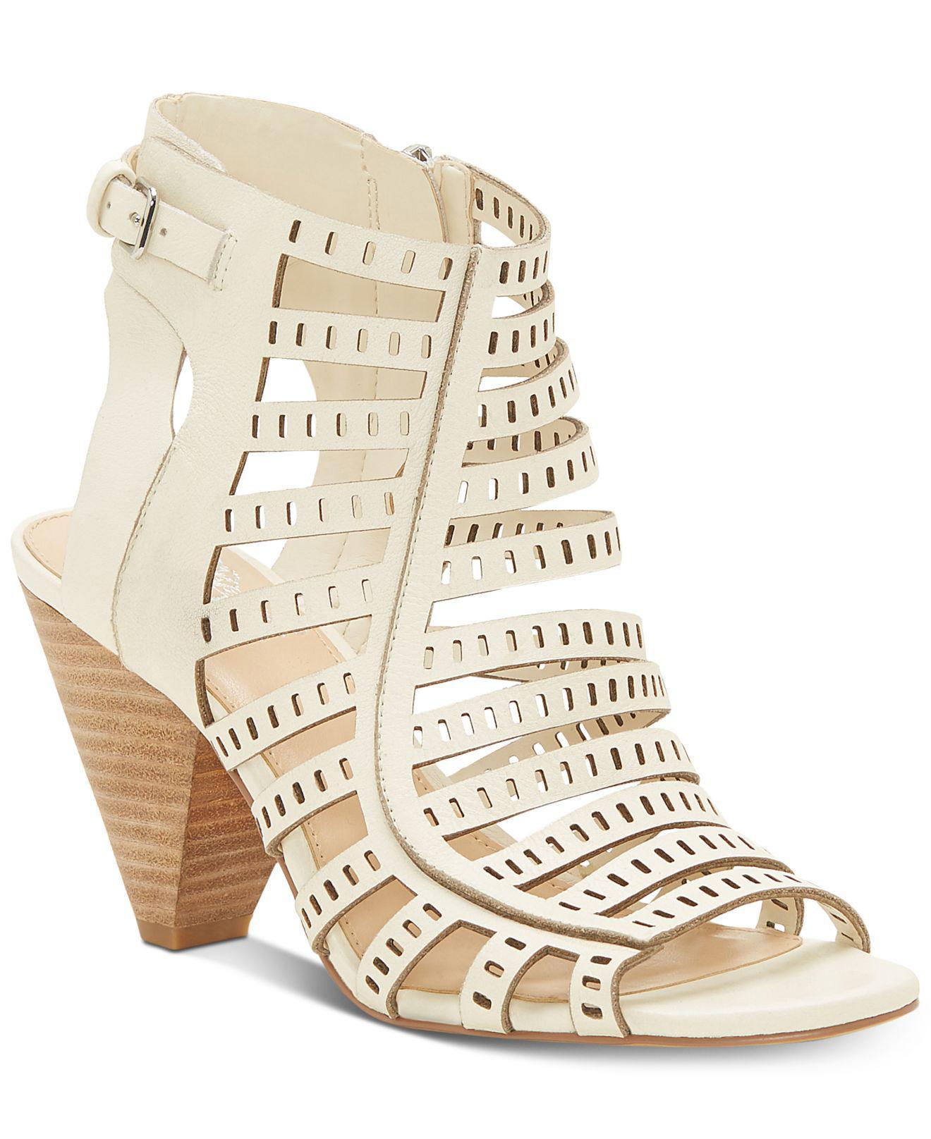 Vince Camuto Elison Cone-Heel Dress Sandals Women's Shoes ybV20C
