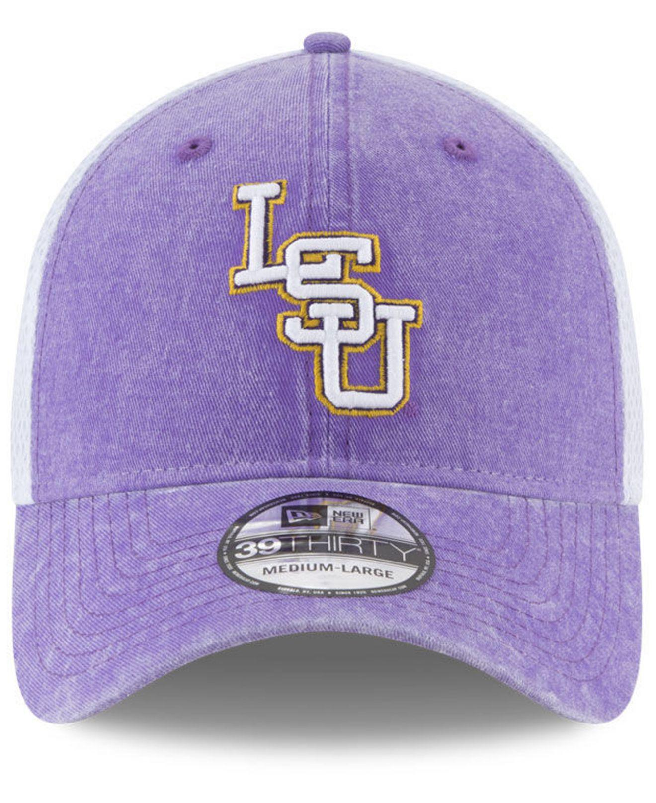 size 40 3740f 07b6c Lyst - KTZ Lsu Tigers Washed Neo 39thirty Cap in Purple for Men