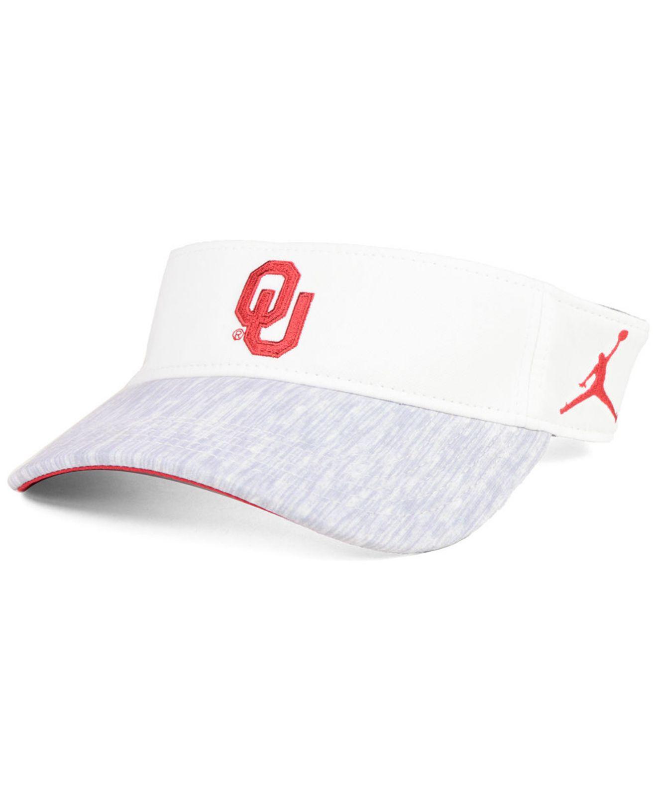 3fe61a1cf0b Nike - White Oklahoma Sooners Sideline Visor 2018 - Lyst. View fullscreen