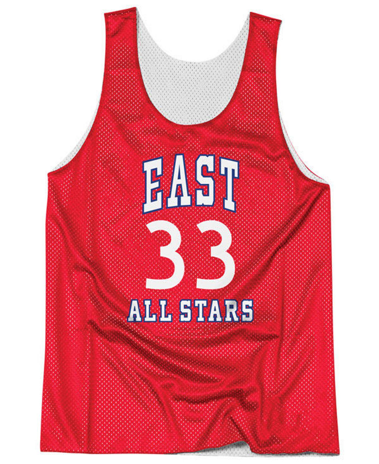 8042e1e94 Mitchell   Ness - Red Larry Bird Nba All Star Reversible Tank for Men -  Lyst. View fullscreen