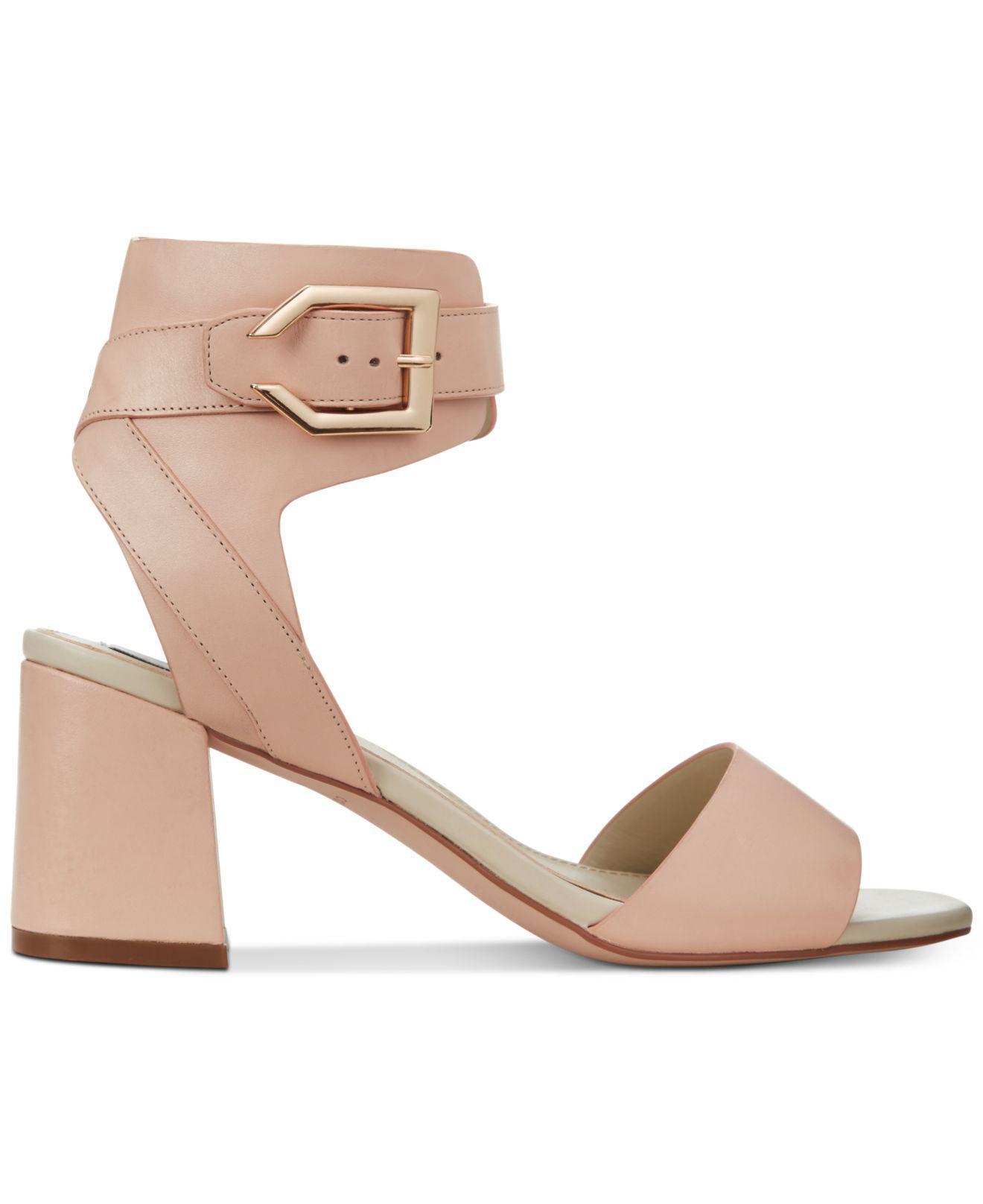 f0d9b5861ae Lyst - Cole Haan Avani Block-heel Sandals