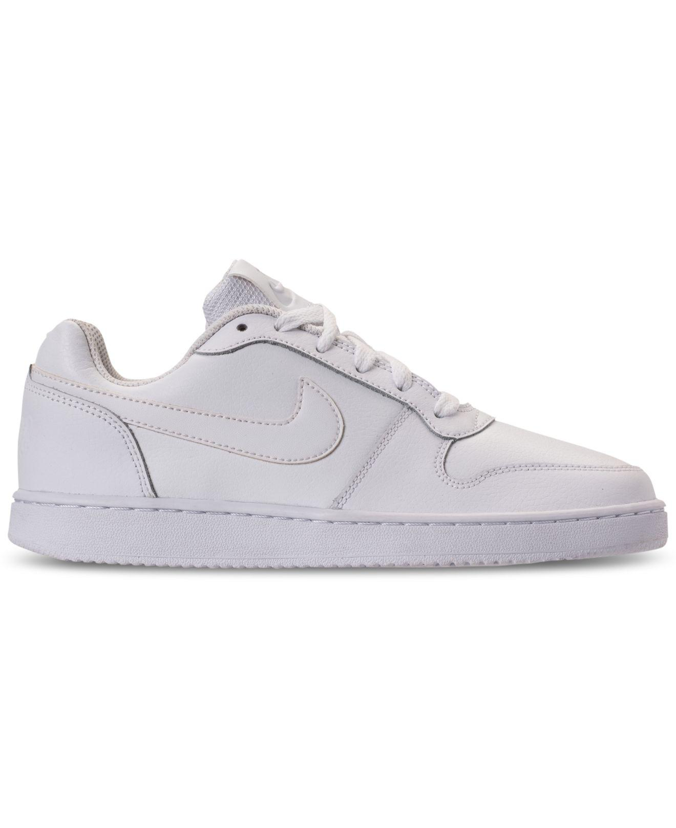 f2f6b6b6b8b Lyst - Nike Ebernon Low Casual Sneakers From Finish Line in White