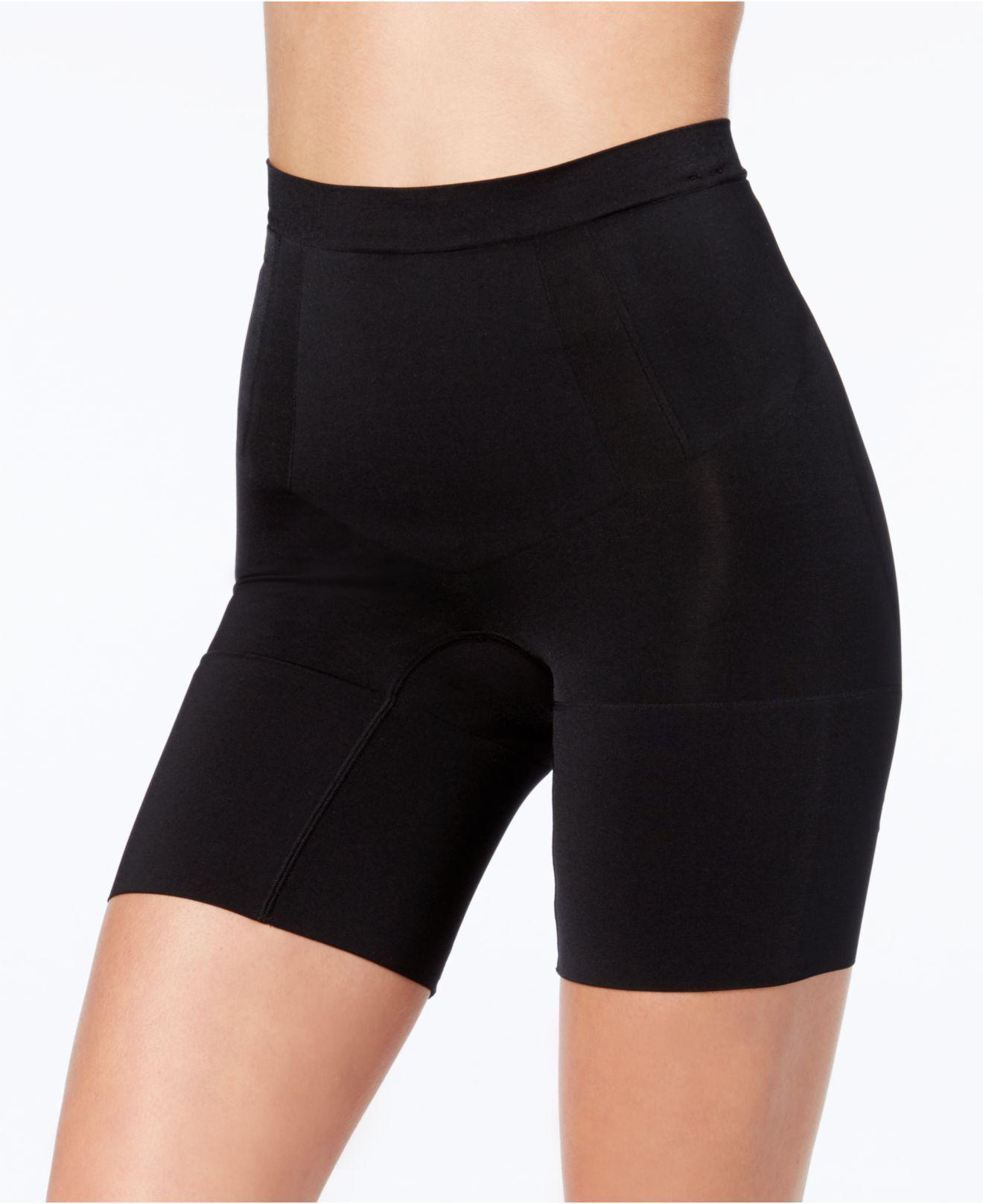 aa9ac44b05 Lyst - Spanx Oncore Mid-thigh Short Ss6615 in Black