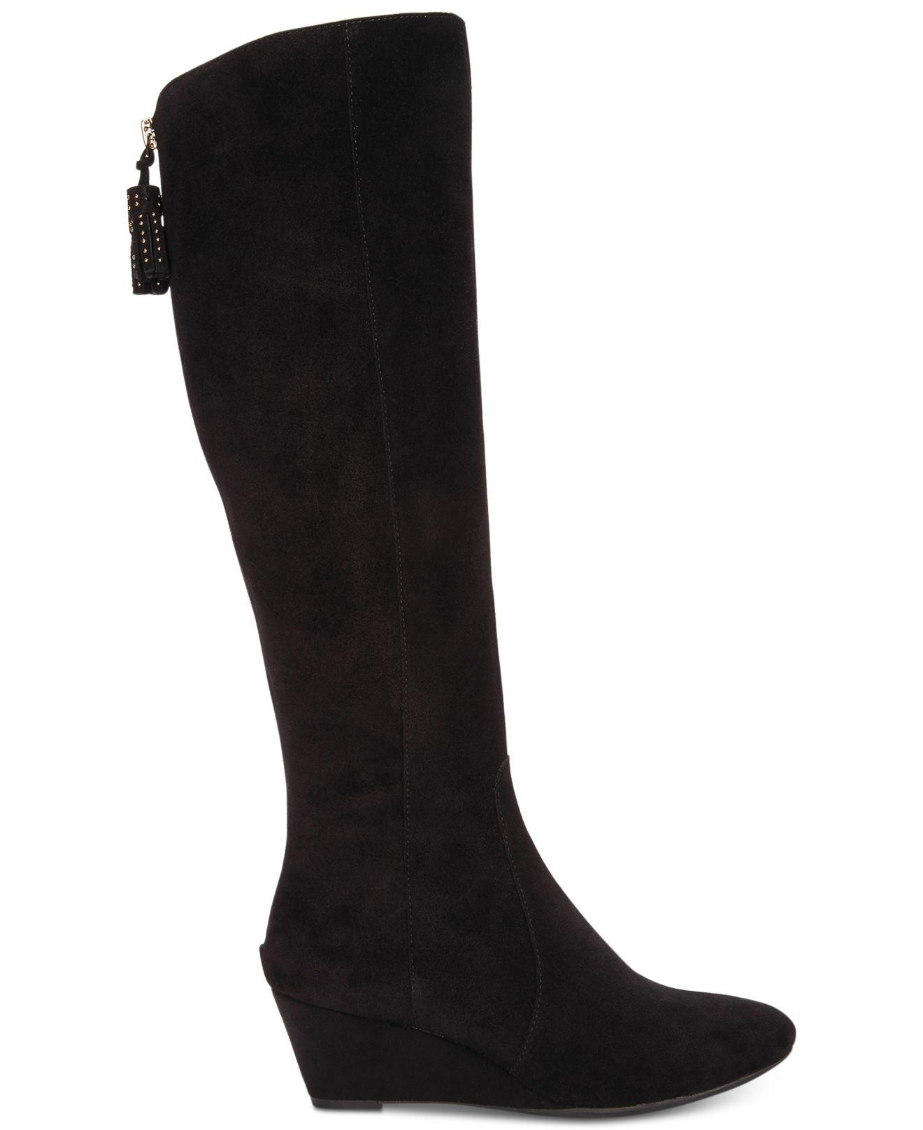5ae7f2023fa Lyst - Anne Klein Azriel Tall Boots in Black