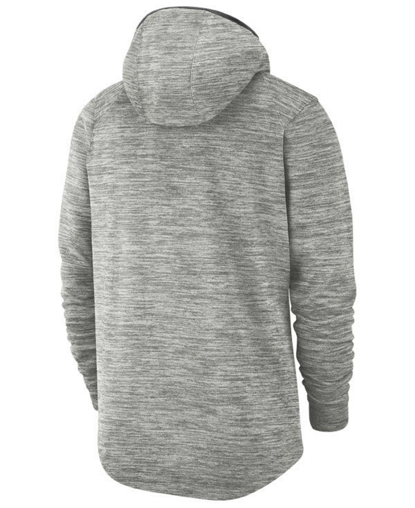 e1c93419 Lyst - Nike Minnesota Timberwolves Spotlight Pullover Hoodie in Gray for Men