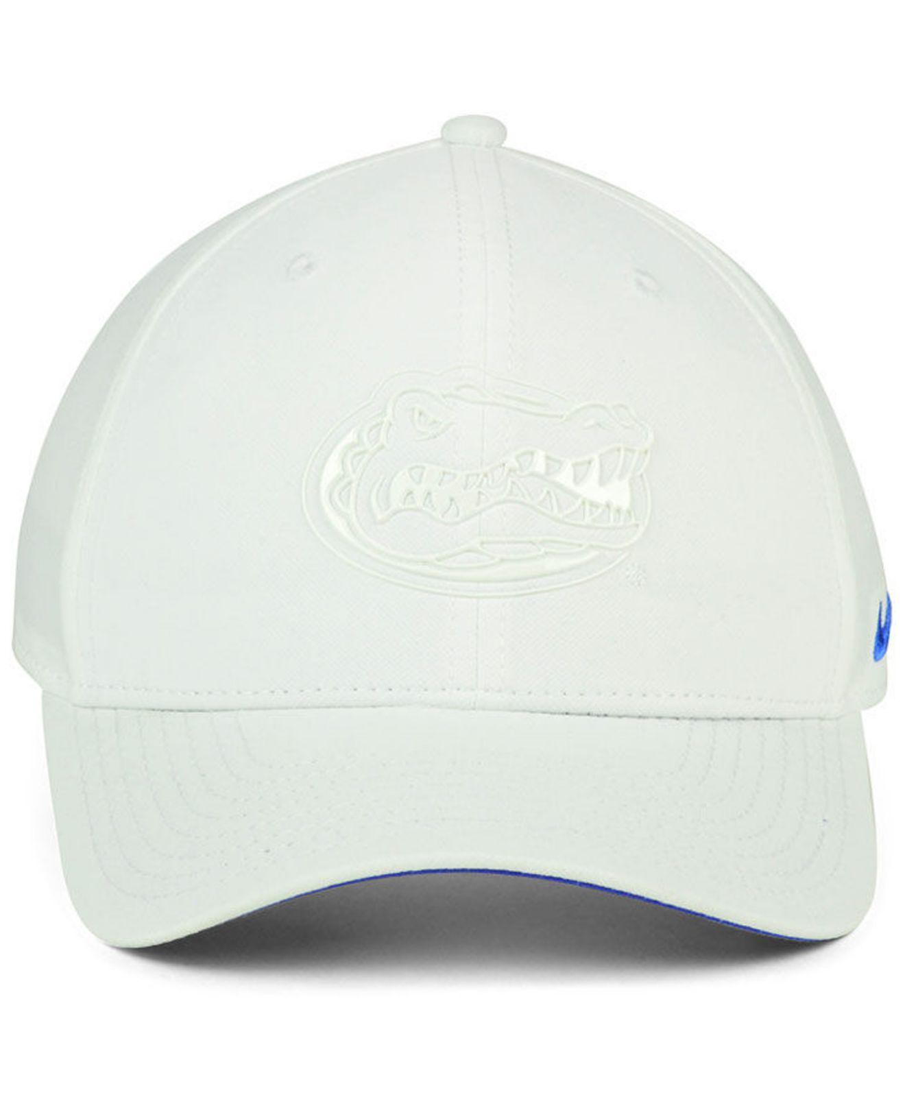 7e685af7847 ... swooshflex cap 65a60 a8751  amazon lyst nike florida gators col cap in  white for men 6afcd 93c5f