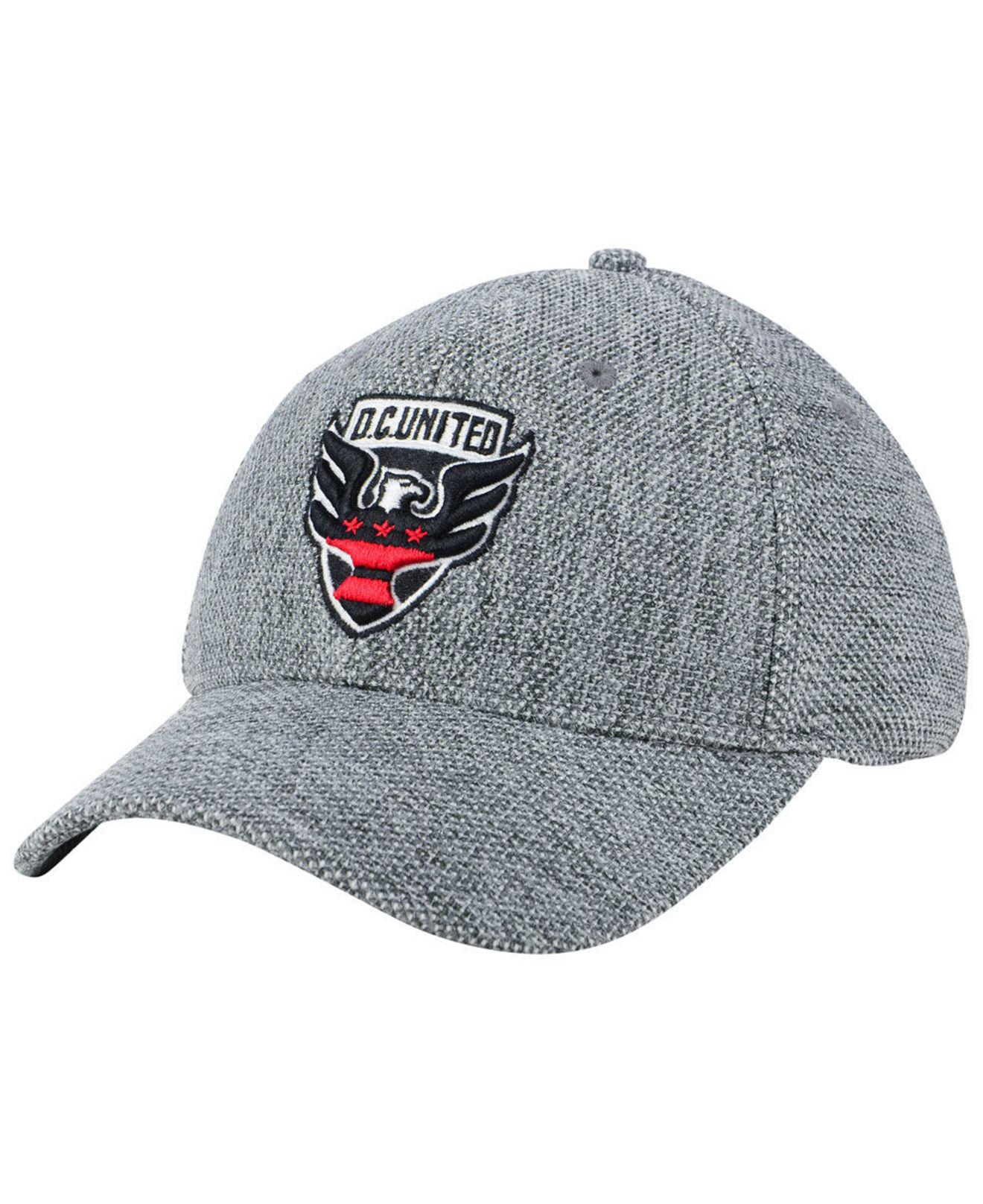 Lyst - Adidas Dc United Penalty Kick Flex Cap in Gray for Men 89243906b421
