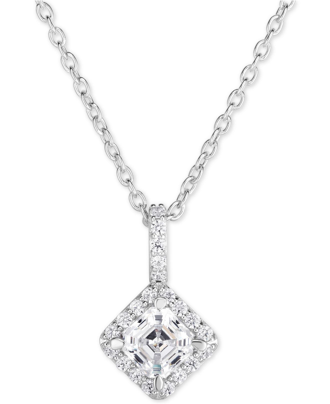 Arabella Rose Quartz Heart Pendant Necklace Silver Chain Q1uJ1v ...